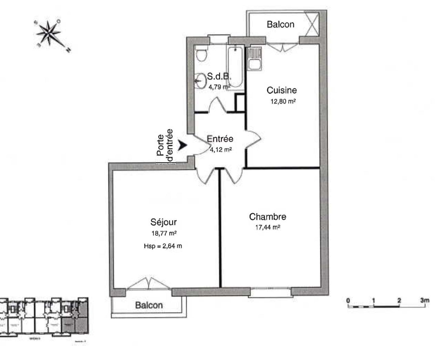 2 PIECES REFAIT A NEUF - Devenez locataire en toute sérénité - Bintz Immobilier - 4