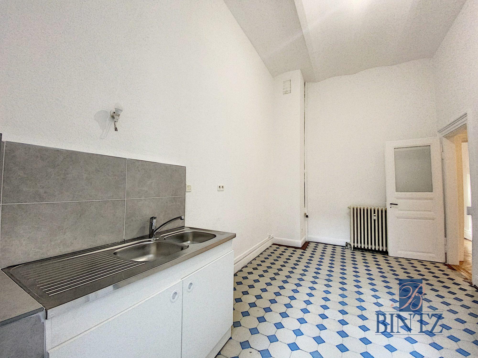 5 pièces rue Wimpheling - Devenez locataire en toute sérénité - Bintz Immobilier - 5