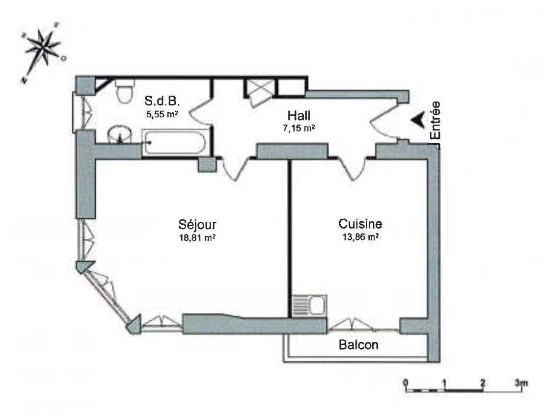 GRAND 1 PIÈCE KRUTENEAU - Devenez locataire en toute sérénité - Bintz Immobilier - 8