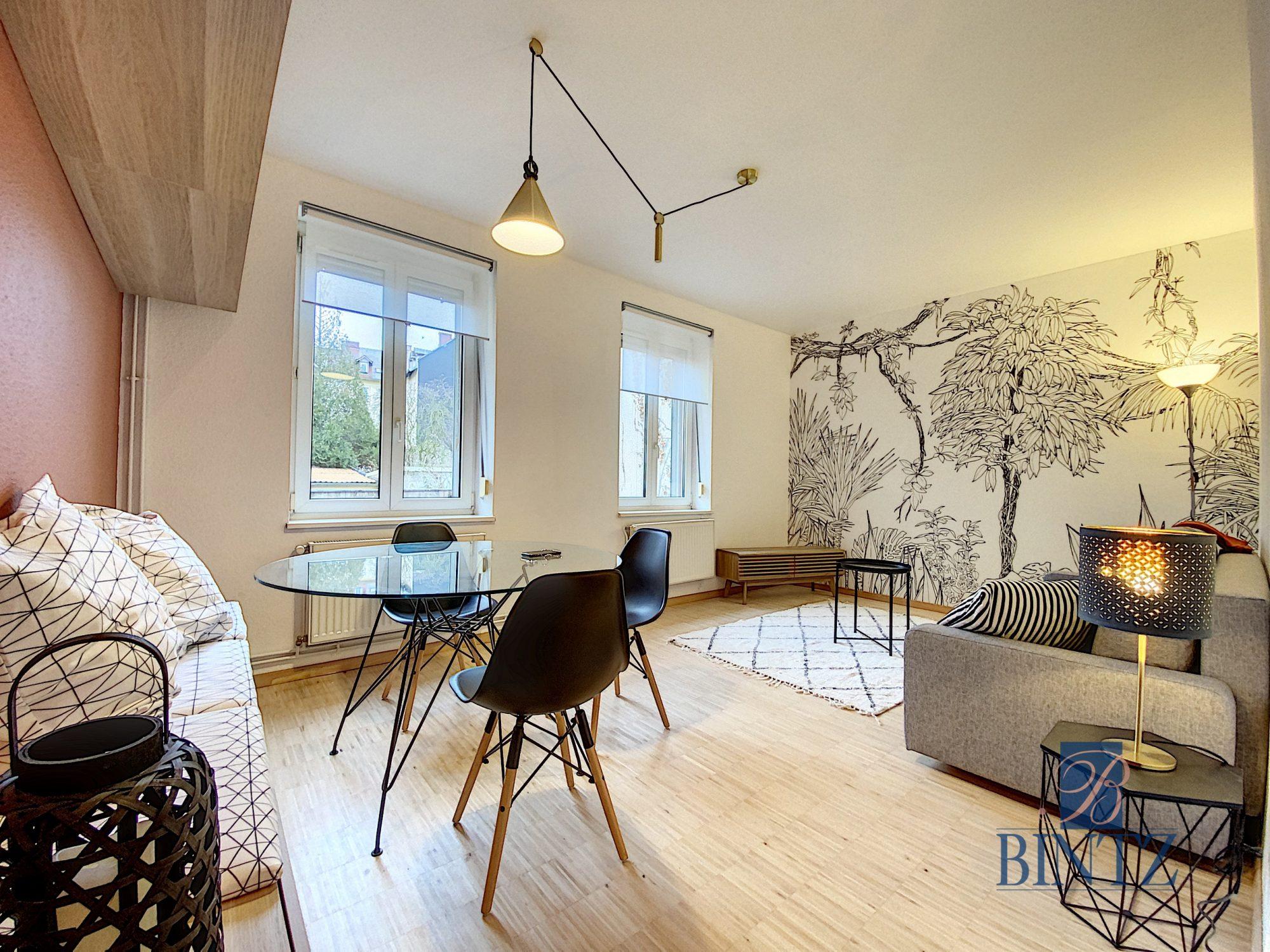 2P MEUBLÉ NEUDORF - Devenez locataire en toute sérénité - Bintz Immobilier - 1