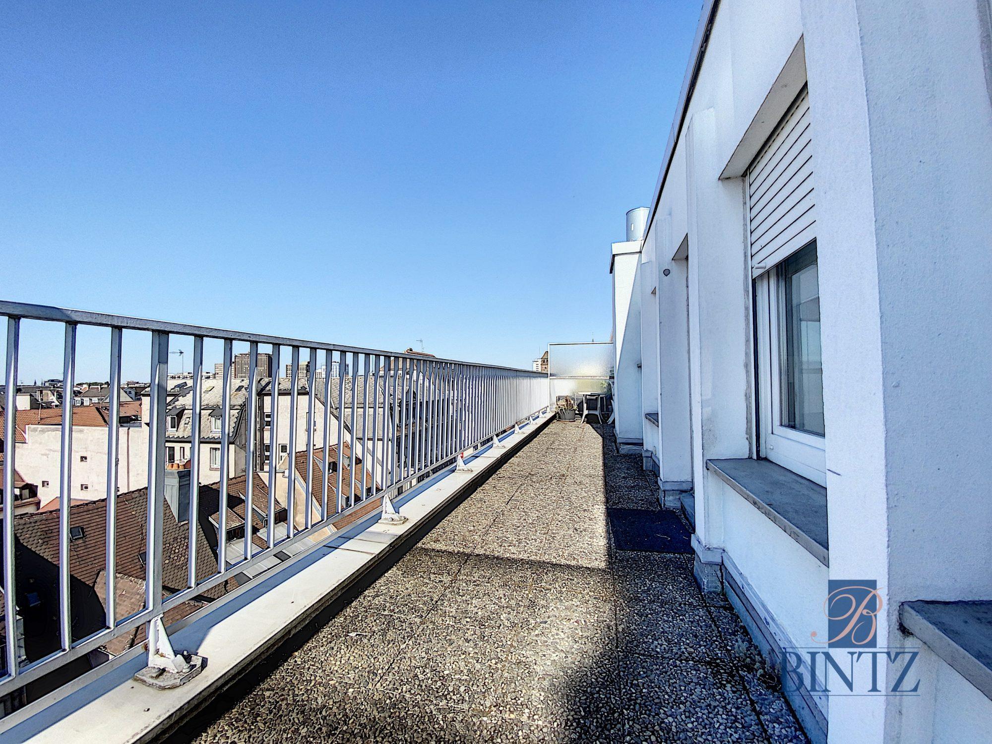 GRAND T1 AVEC TERRASSE QUARTIER GARE - Devenez locataire en toute sérénité - Bintz Immobilier - 1