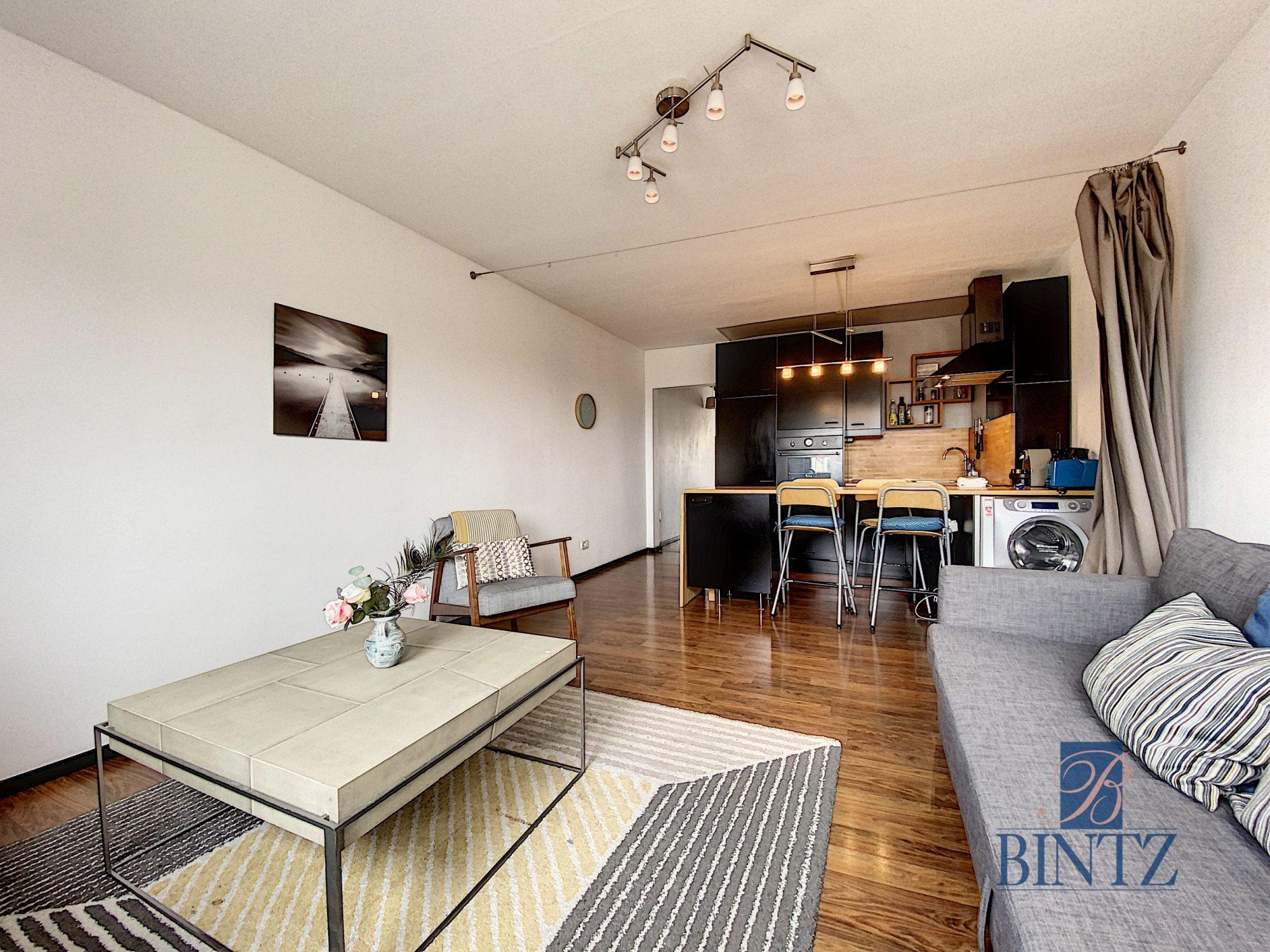 2P MEUBLÉ FG NATIONAL AVEC BALCON - Devenez locataire en toute sérénité - Bintz Immobilier - 2
