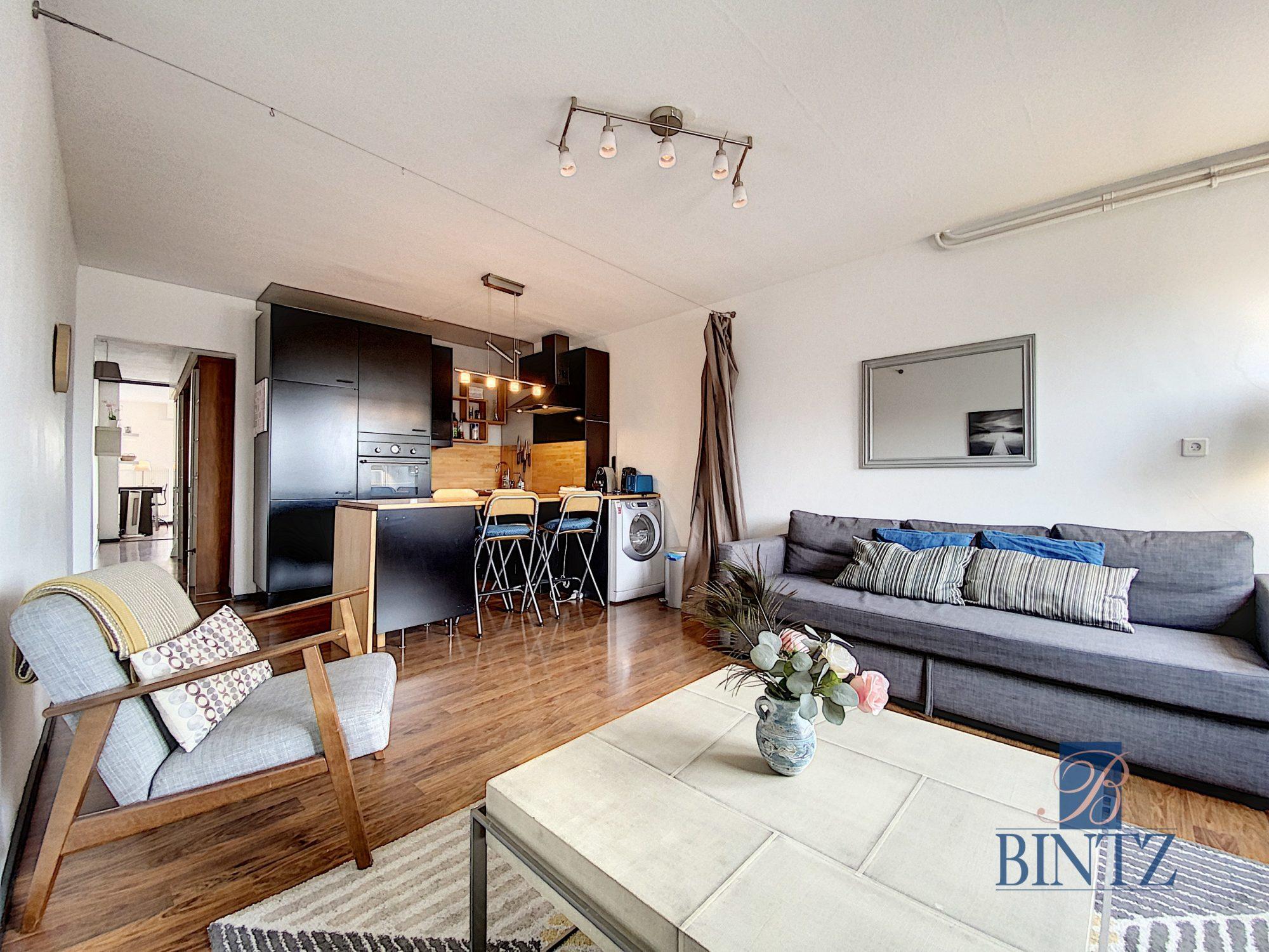 2P MEUBLÉ FG NATIONAL AVEC BALCON - Devenez locataire en toute sérénité - Bintz Immobilier - 1