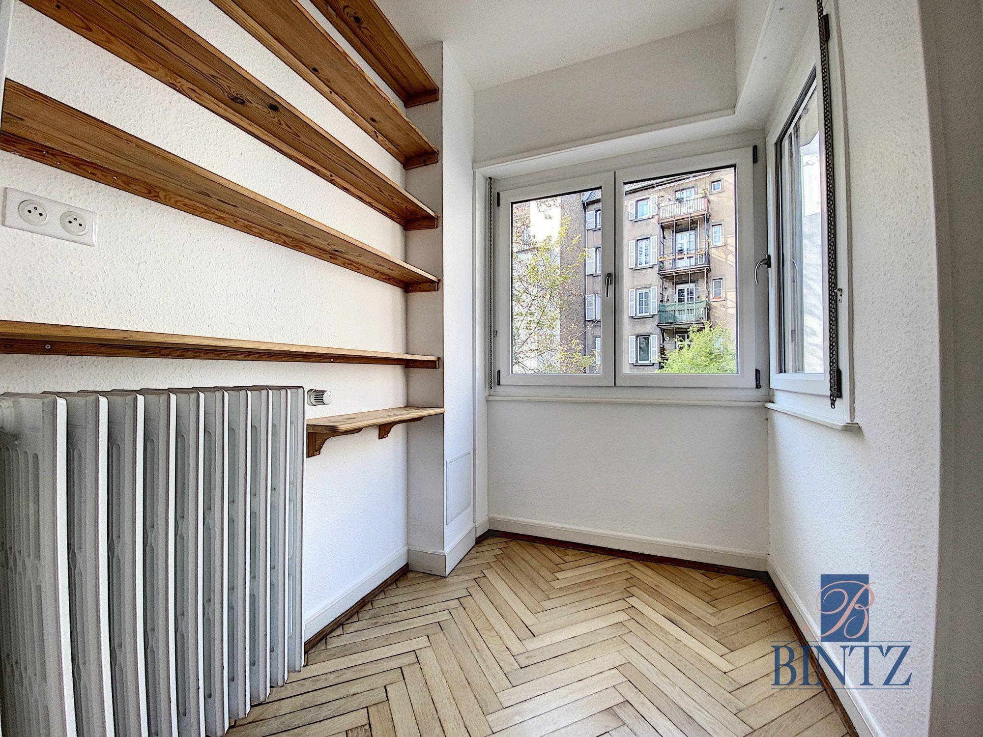 2 pièces orangerie avec balcon - Devenez locataire en toute sérénité - Bintz Immobilier - 7