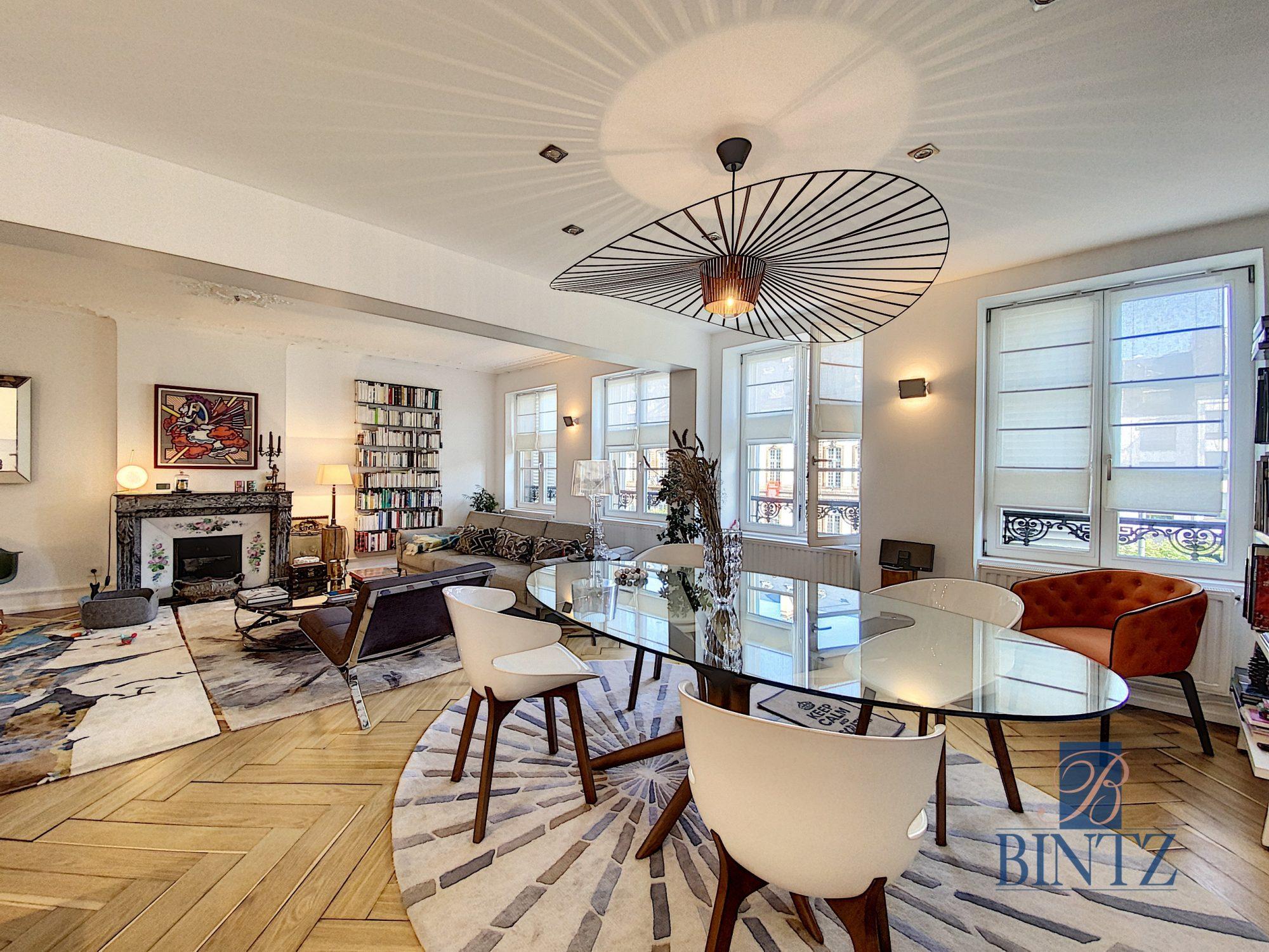 5 pièces d'exception face à la mairie - Devenez locataire en toute sérénité - Bintz Immobilier - 2