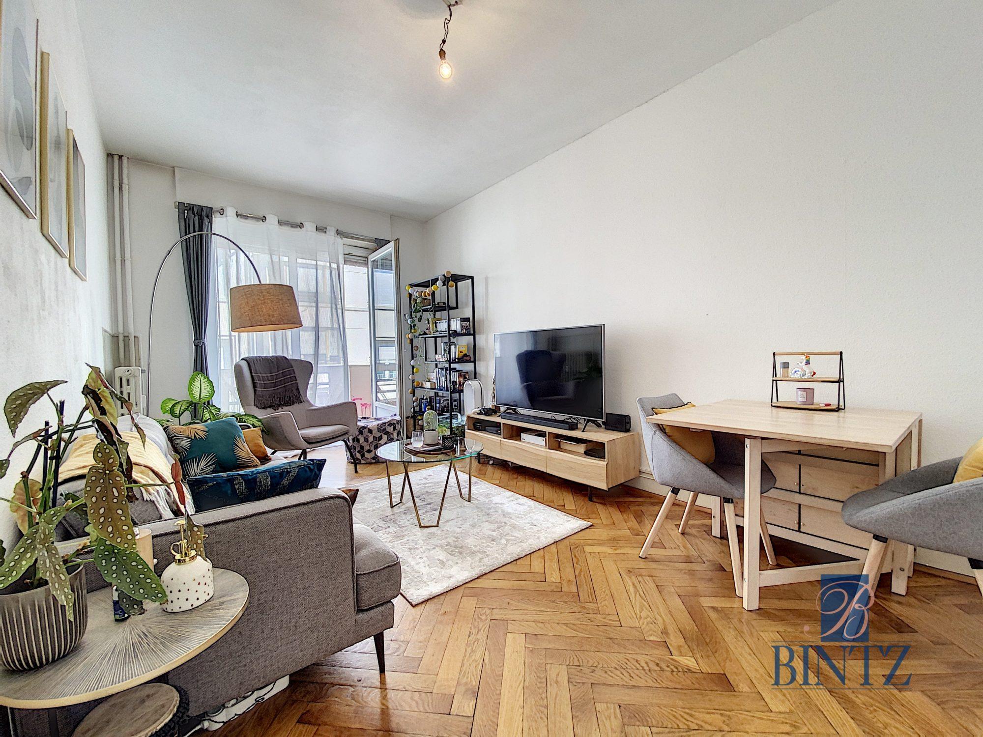 2 PIECES AVEC BALCON KRUTENAU - Devenez locataire en toute sérénité - Bintz Immobilier - 9
