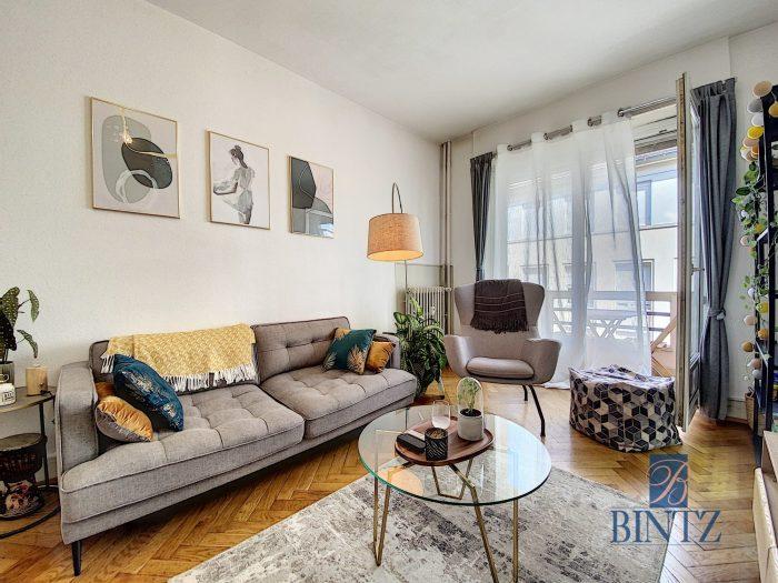 2 PIECES AVEC BALCON KRUTENAU - Devenez locataire en toute sérénité - Bintz Immobilier