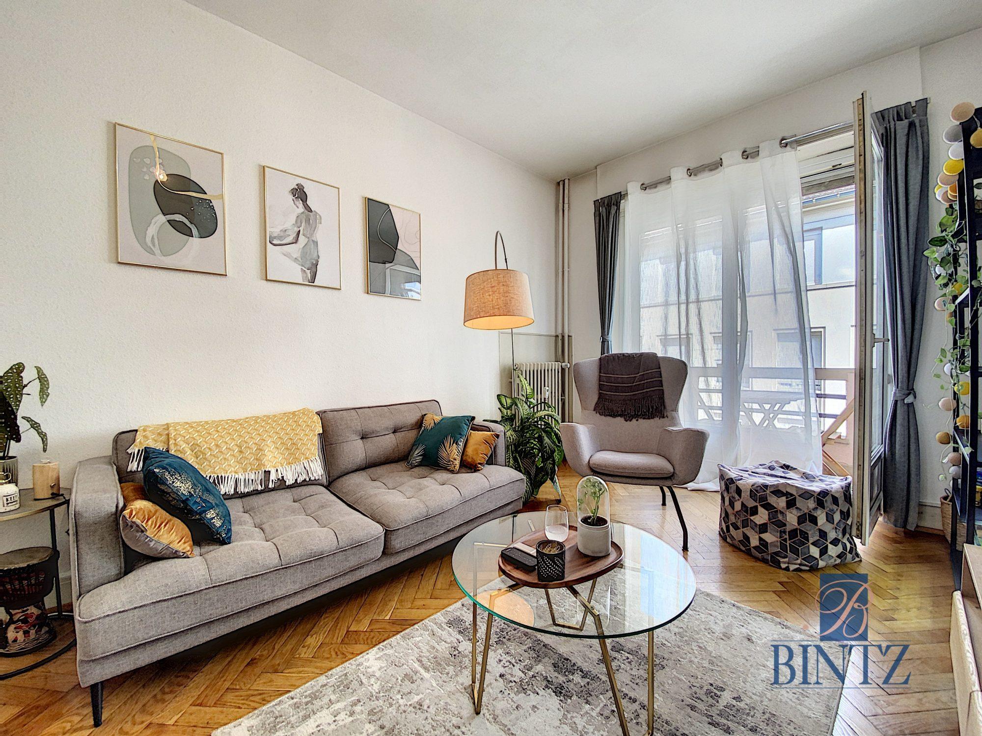 2 PIECES AVEC BALCON KRUTENAU - Devenez locataire en toute sérénité - Bintz Immobilier - 1