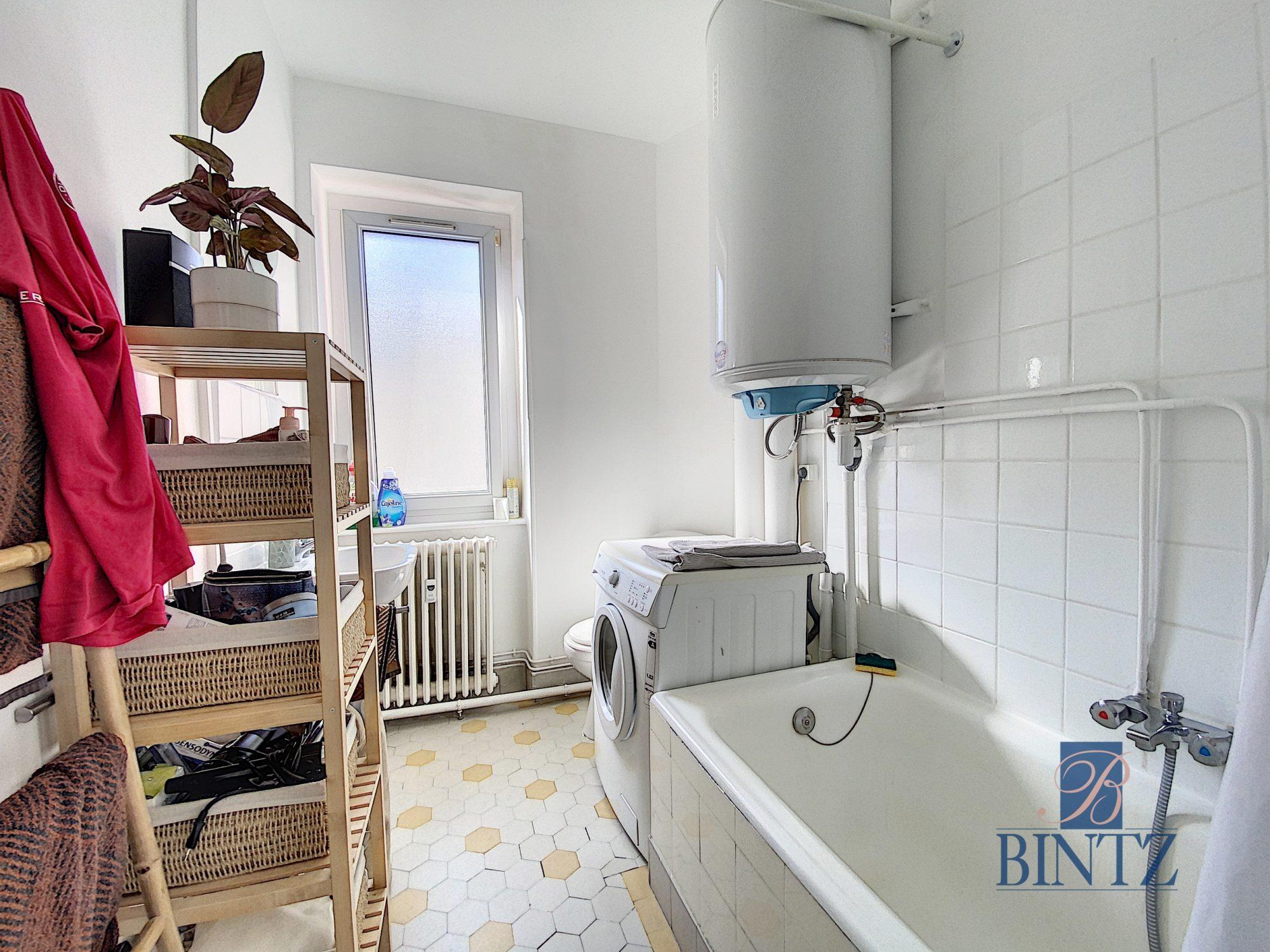 2 PIECES AVEC BALCON KRUTENAU - Devenez locataire en toute sérénité - Bintz Immobilier - 10