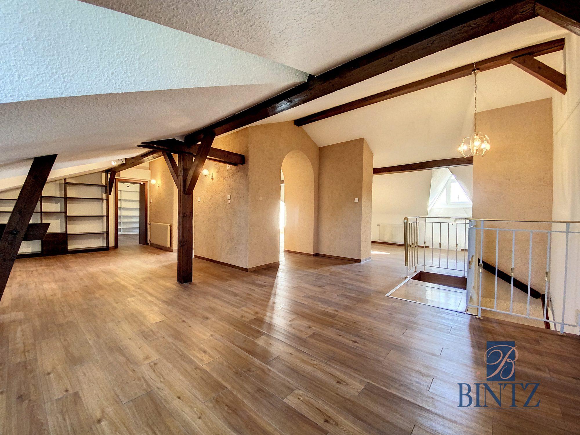 DUPLEX PLACE DE L'UNIVERSITÉ AVEC TERRASSE - Devenez locataire en toute sérénité - Bintz Immobilier - 17