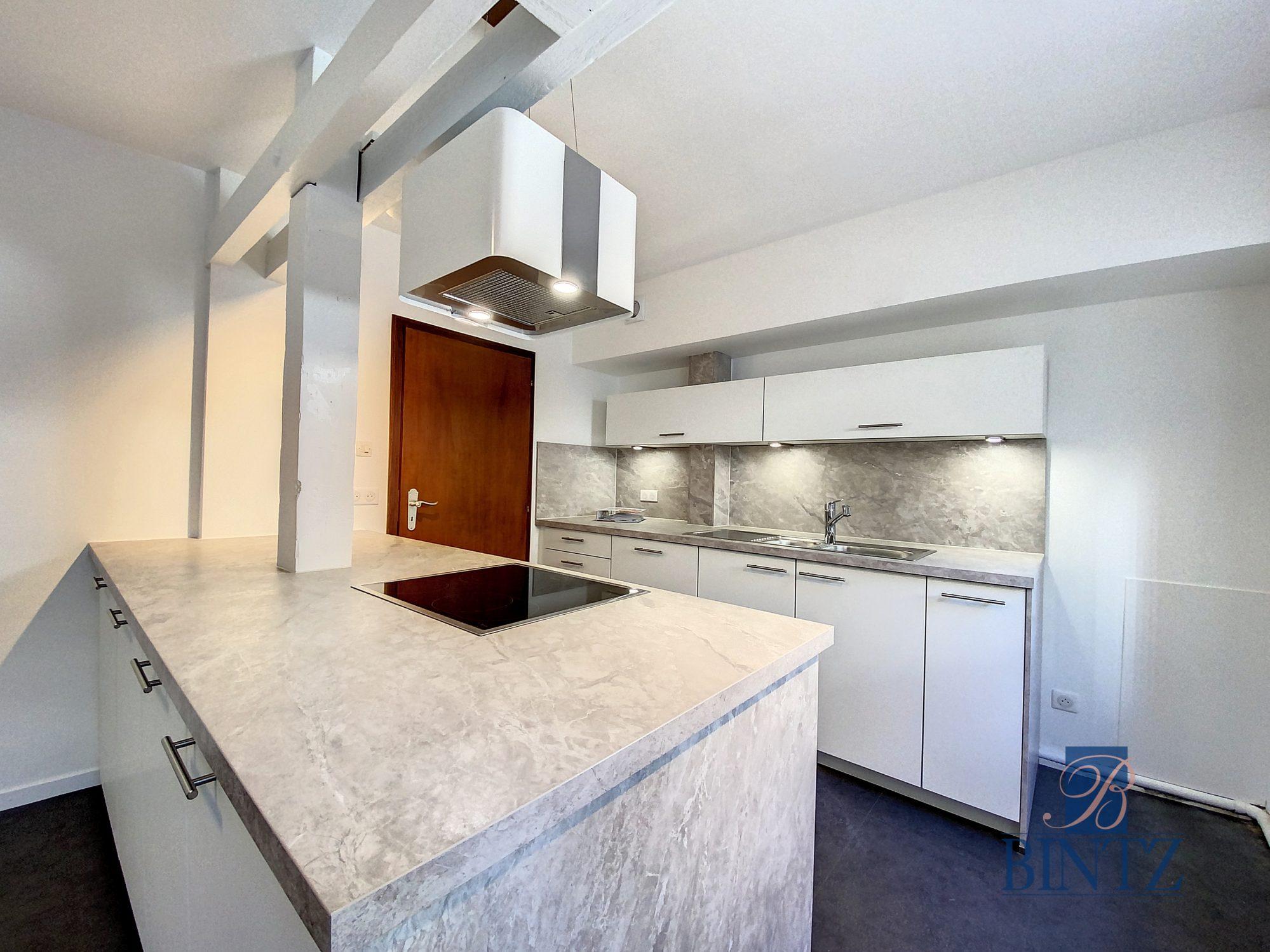 DUPLEX avec terrasse PLACE DE L'UNIVERSITÉ AVEC TERRASSE - Devenez locataire en toute sérénité - Bintz Immobilier - 4