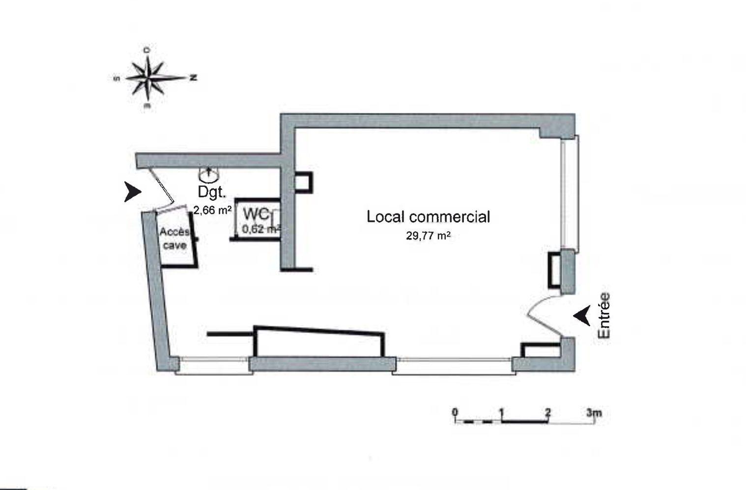 EMPLACEMENT N°1 CATHEDRALE LOCAL COMMERCIAL A LOUER - Devenez locataire en toute sérénité - Bintz Immobilier - 2