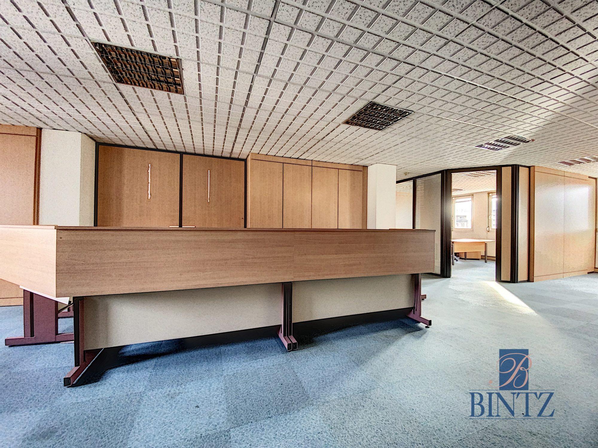 Bureaux à louer – 250m2 Quartier Fisher à Schiltigheim - Devenez locataire en toute sérénité - Bintz Immobilier - 4