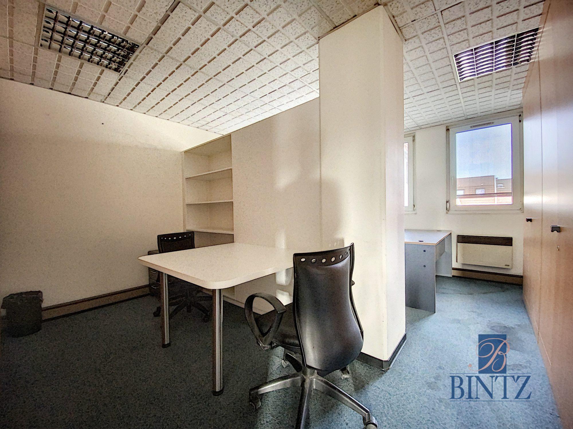 Bureaux à louer – 250m2 Quartier Fisher à Schiltigheim - Devenez locataire en toute sérénité - Bintz Immobilier - 8