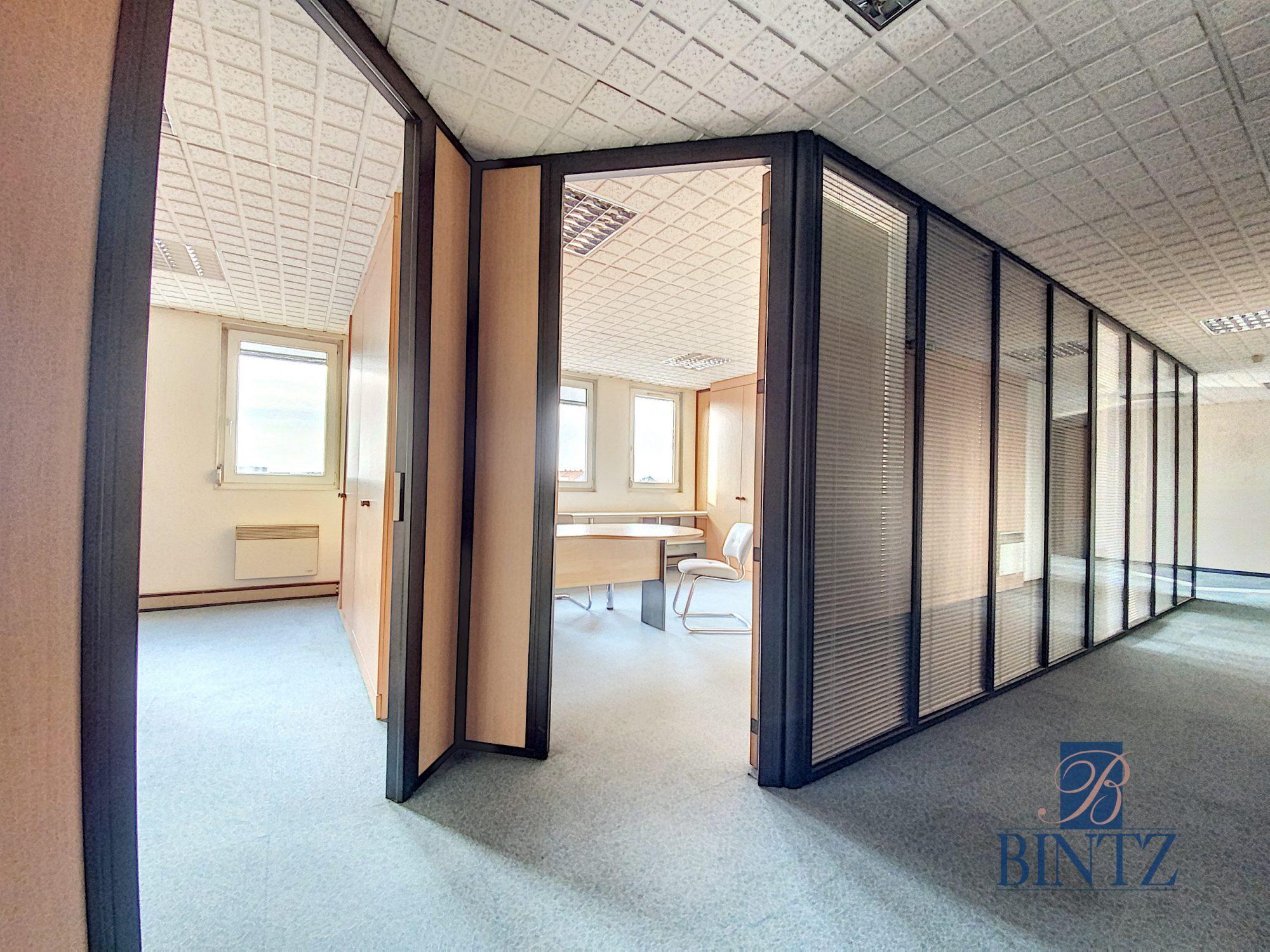 Bureaux à louer – 250m2 Quartier Fisher à Schiltigheim - Devenez locataire en toute sérénité - Bintz Immobilier - 10