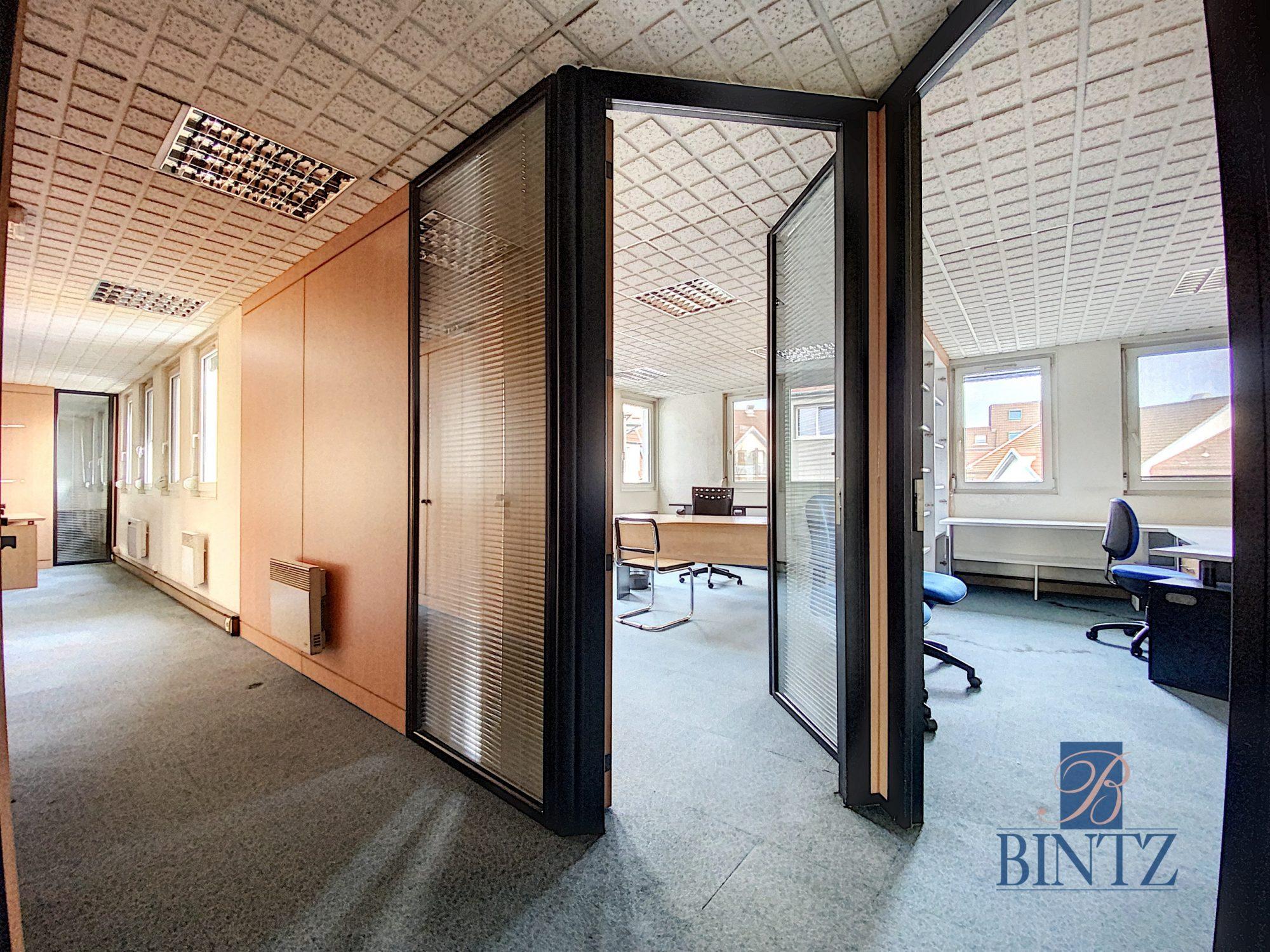 Bureaux à louer – 250m2 Quartier Fisher à Schiltigheim - Devenez locataire en toute sérénité - Bintz Immobilier - 2