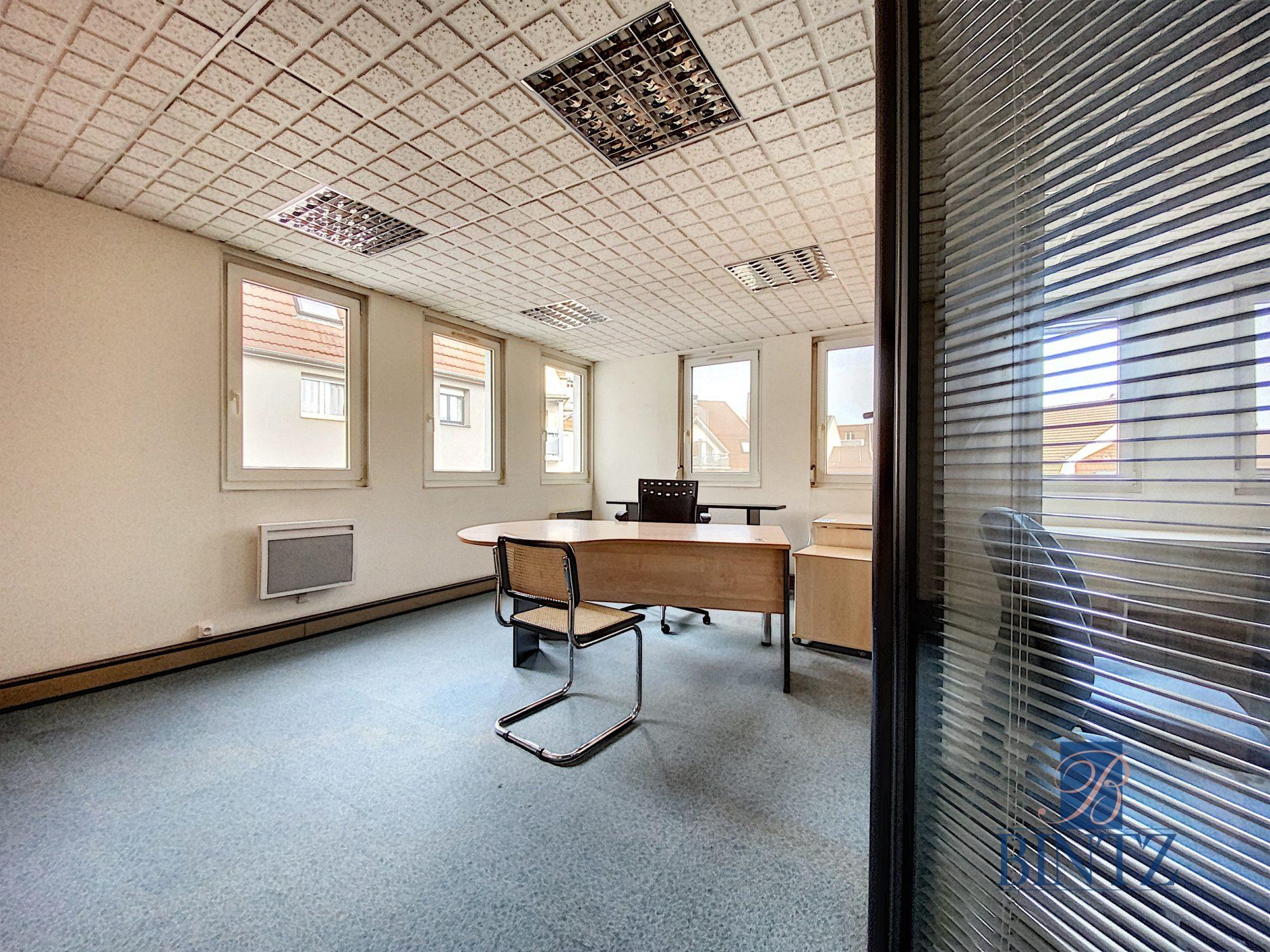 Bureaux à louer – 250m2 Quartier Fisher à Schiltigheim - Devenez locataire en toute sérénité - Bintz Immobilier - 3
