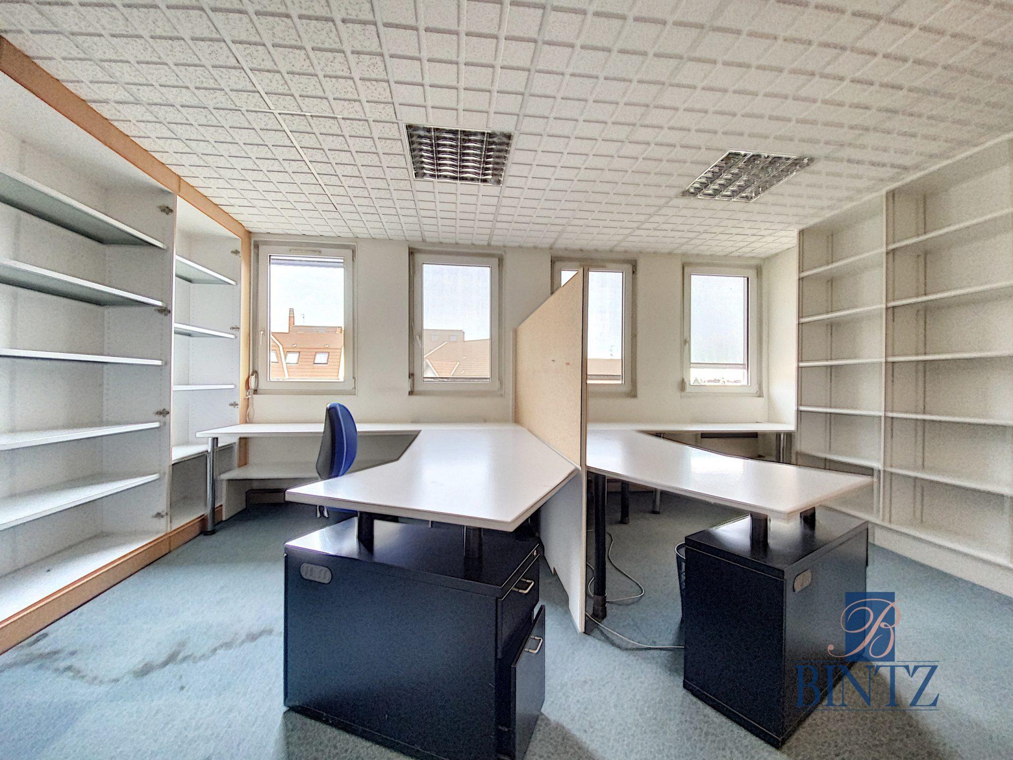 Bureaux à louer – 250m2 Quartier Fisher à Schiltigheim - Devenez locataire en toute sérénité - Bintz Immobilier - 15