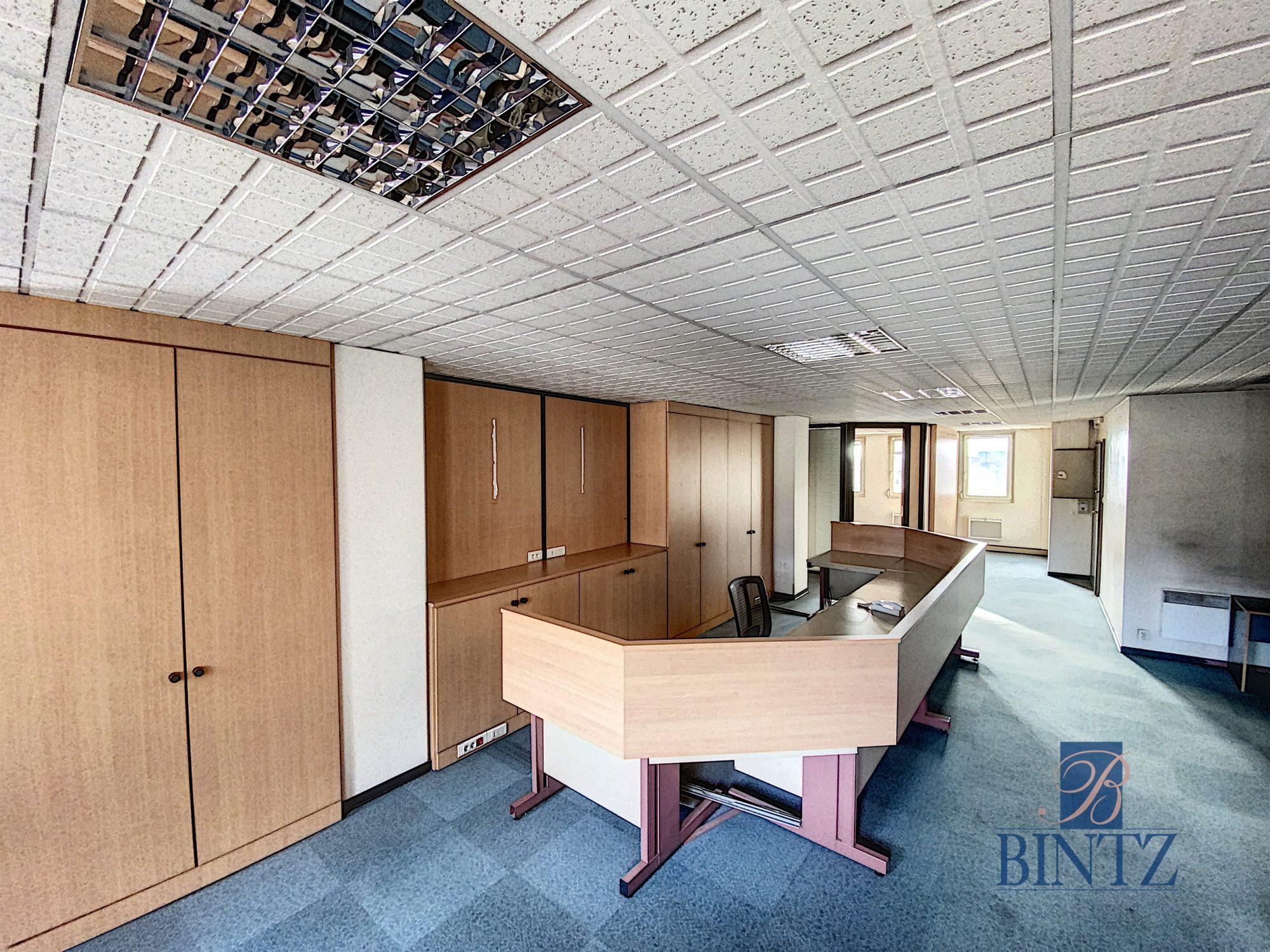 Bureaux à louer – 250m2 Quartier Fisher à Schiltigheim - Devenez locataire en toute sérénité - Bintz Immobilier - 1