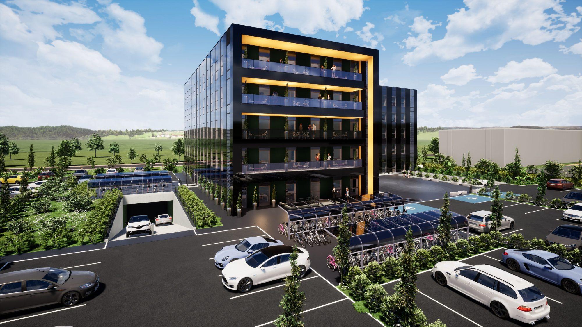 Bureaux neufs à louer – Espace Européen de l'Entreprise - Devenez locataire en toute sérénité - Bintz Immobilier - 3