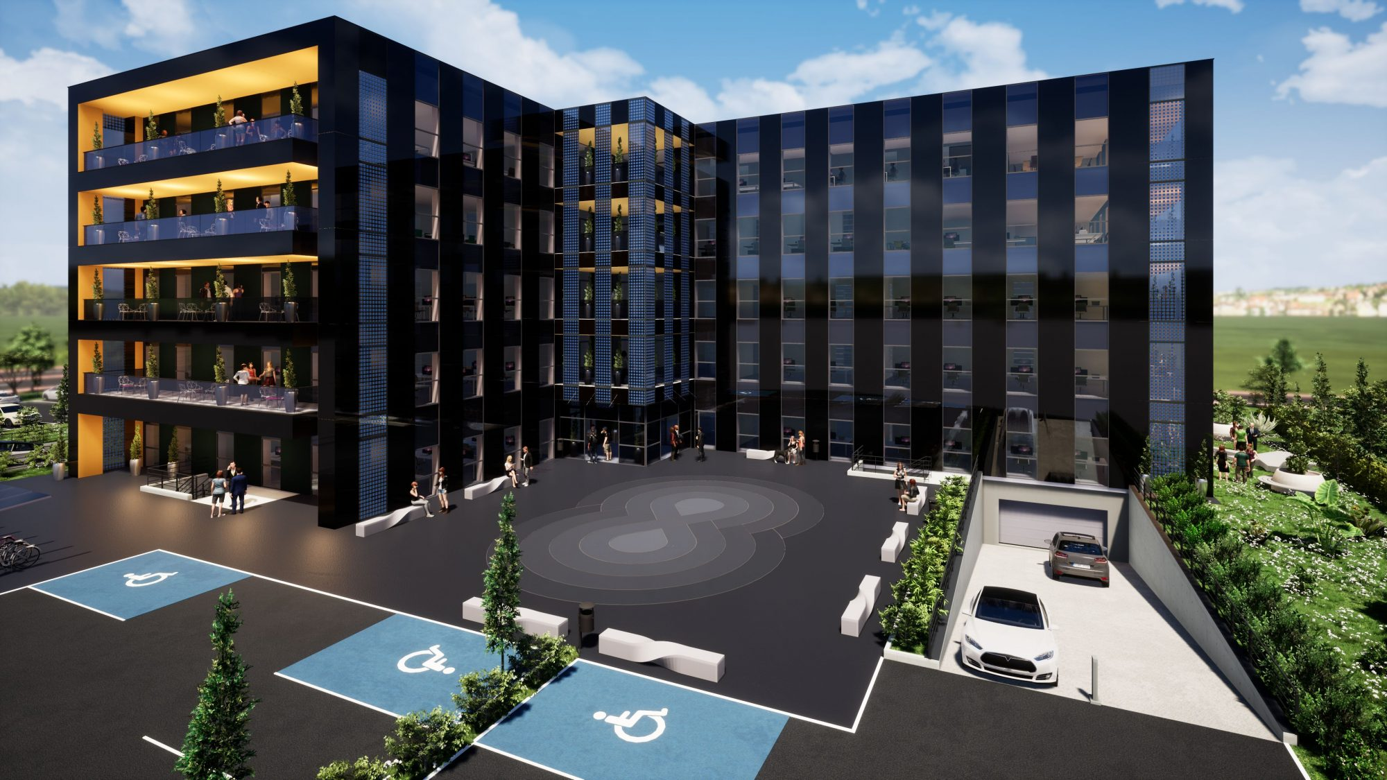 Bureaux neufs à louer – Espace Européen de l'Entreprise - Devenez locataire en toute sérénité - Bintz Immobilier - 2