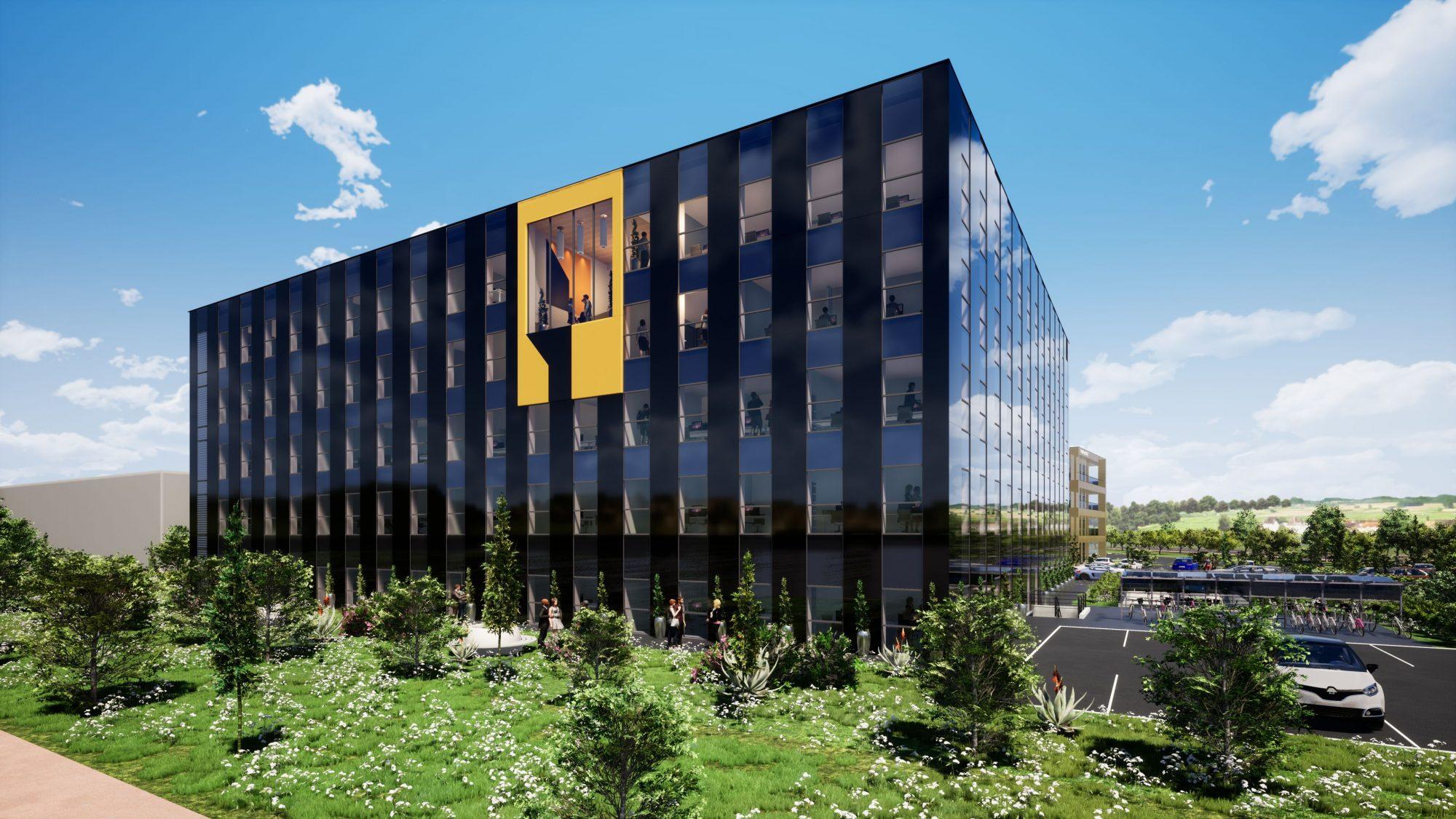 Bureaux neufs à louer – Espace Européen de l'Entreprise - Devenez locataire en toute sérénité - Bintz Immobilier - 4