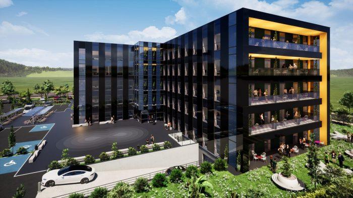 Bureaux neufs à louer – Espace Européen de l'Entreprise - Devenez locataire en toute sérénité - Bintz Immobilier