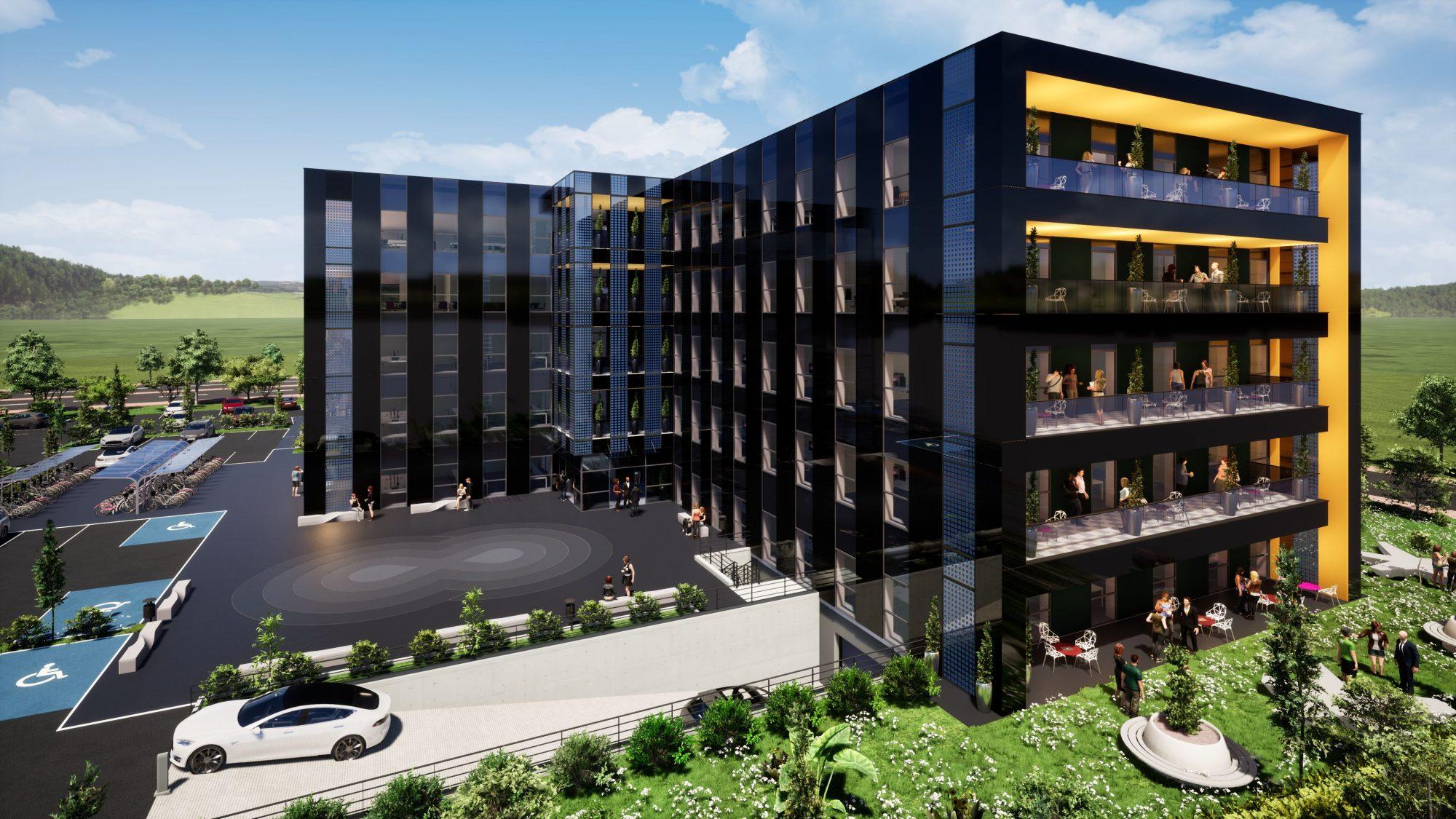 Bureaux neufs à louer – Espace Européen de l'Entreprise - Devenez locataire en toute sérénité - Bintz Immobilier - 1