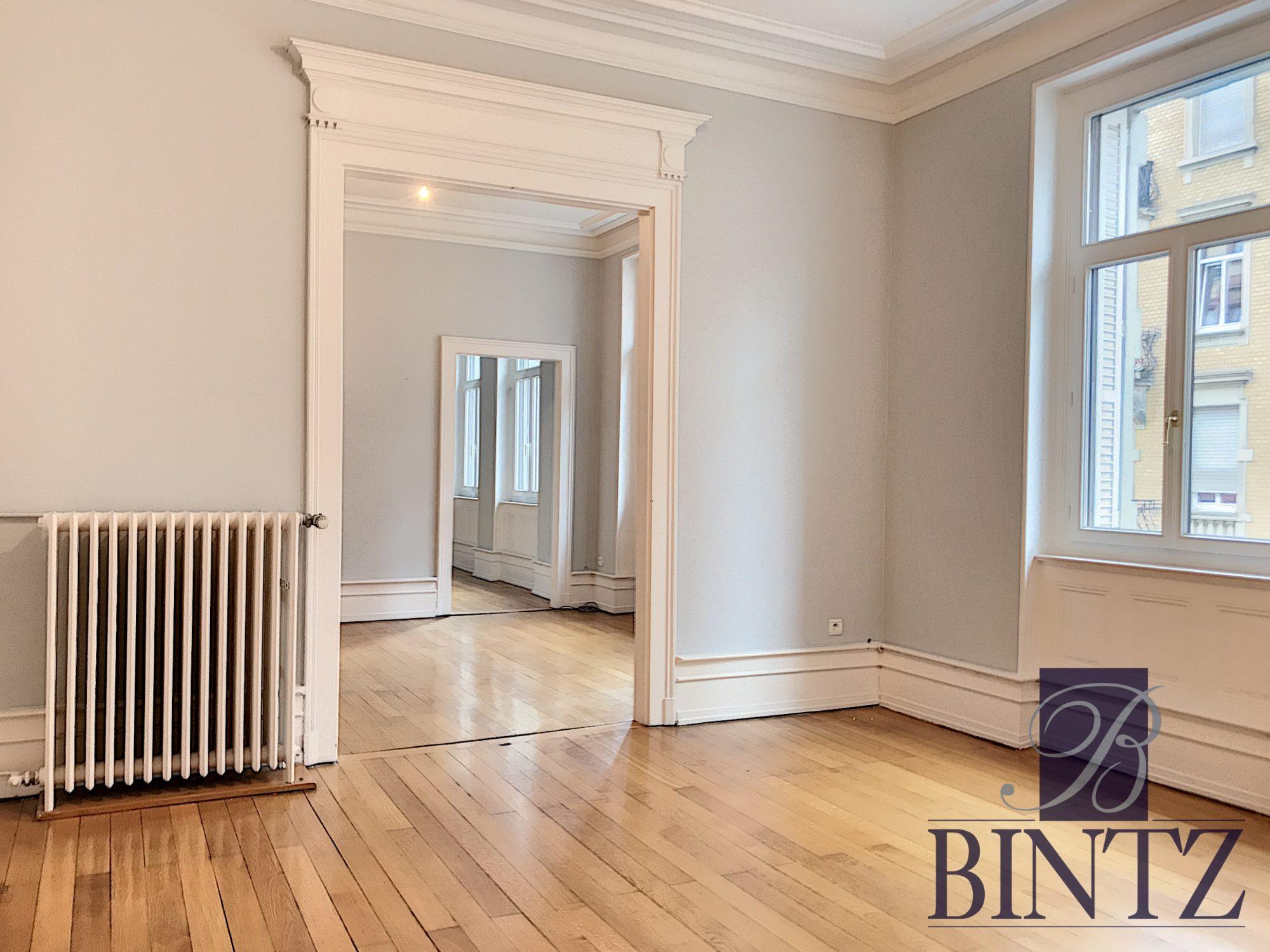 5 PIÈCES QUARTIER CONTADES AVEC 2 BALCONS - Devenez propriétaire en toute confiance - Bintz Immobilier - 1