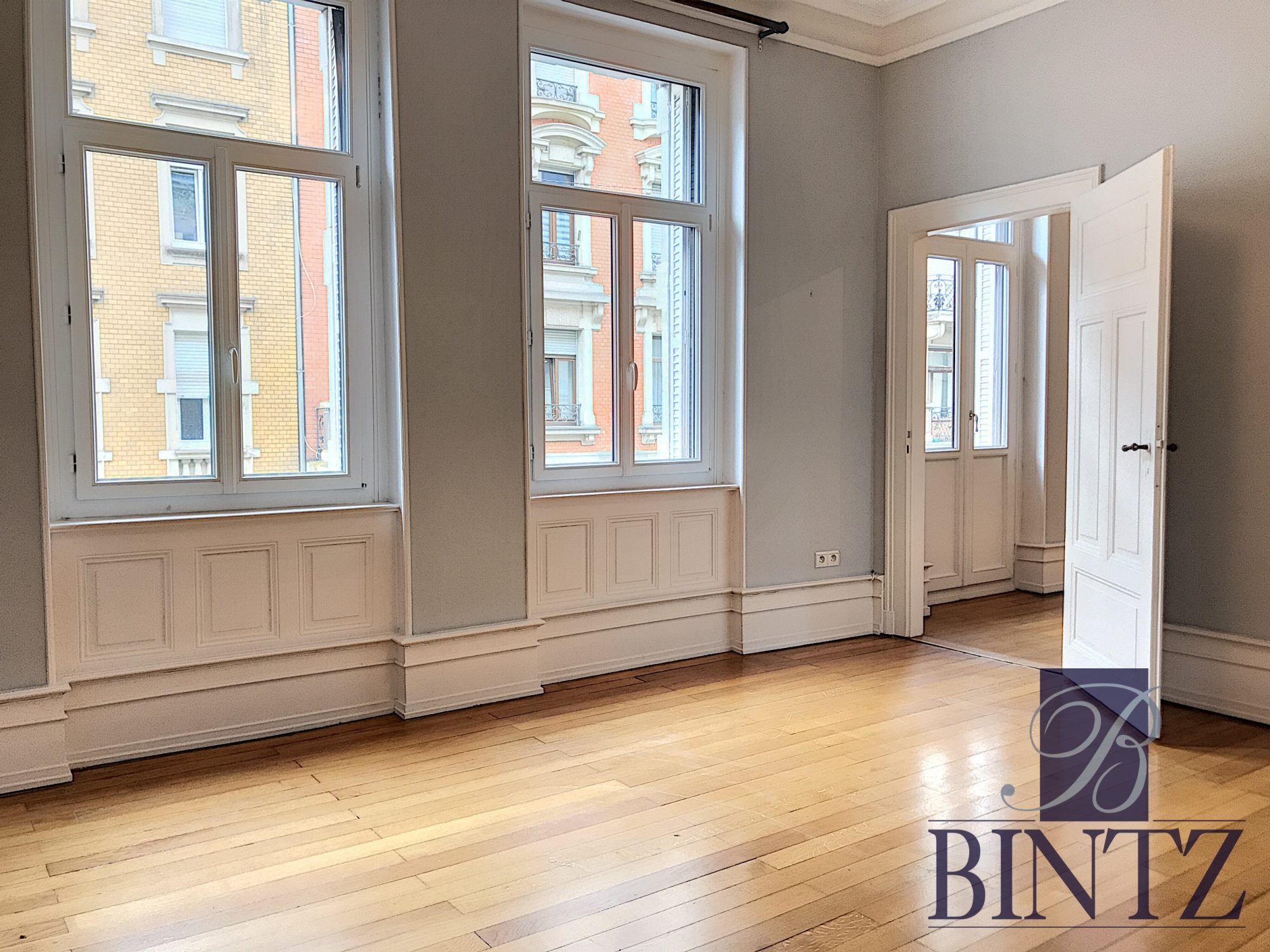 5 PIÈCES QUARTIER CONTADES AVEC 2 BALCONS - Devenez propriétaire en toute confiance - Bintz Immobilier - 2