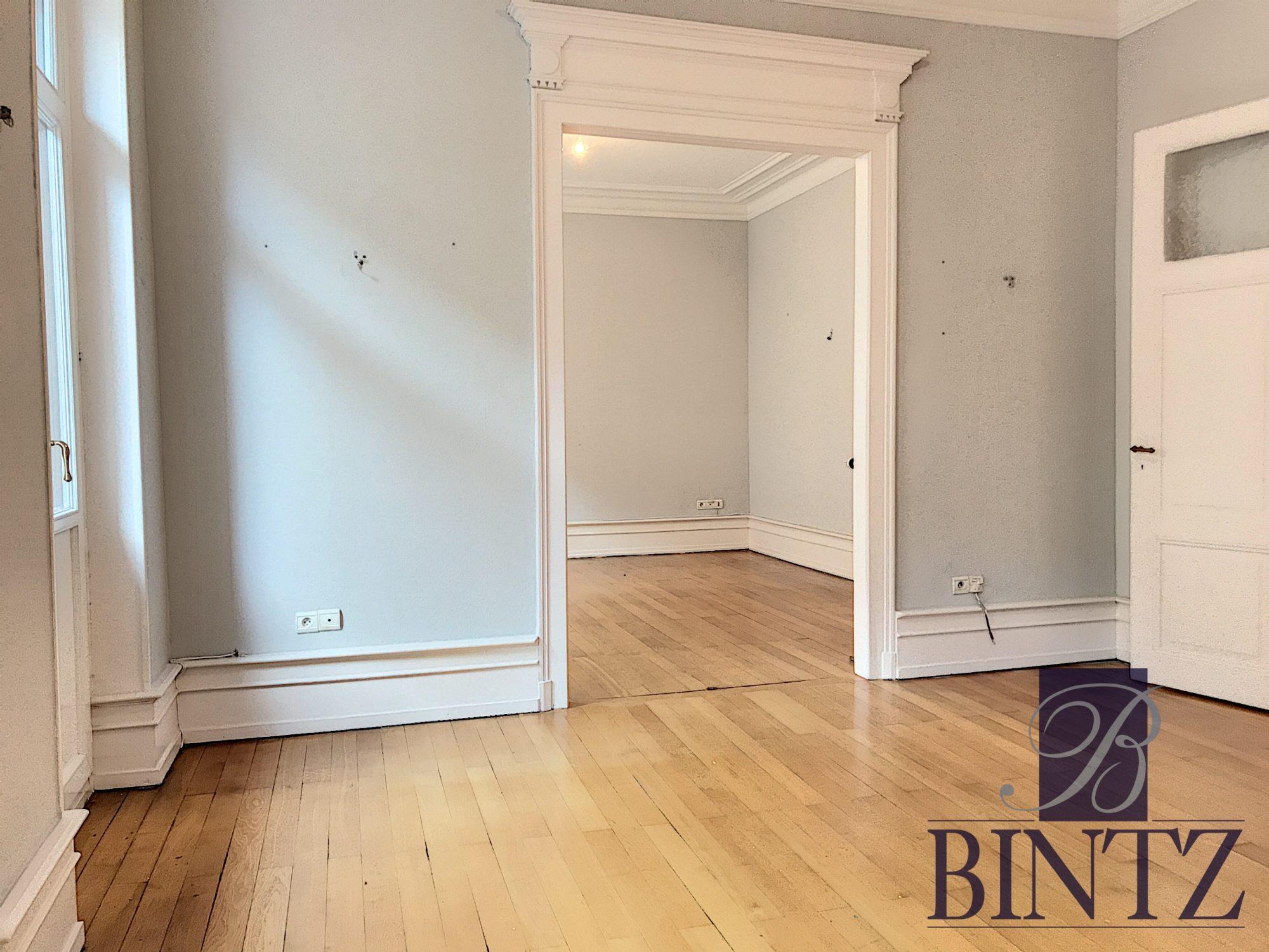 5 PIÈCES QUARTIER CONTADES AVEC 2 BALCONS - Devenez propriétaire en toute confiance - Bintz Immobilier - 5