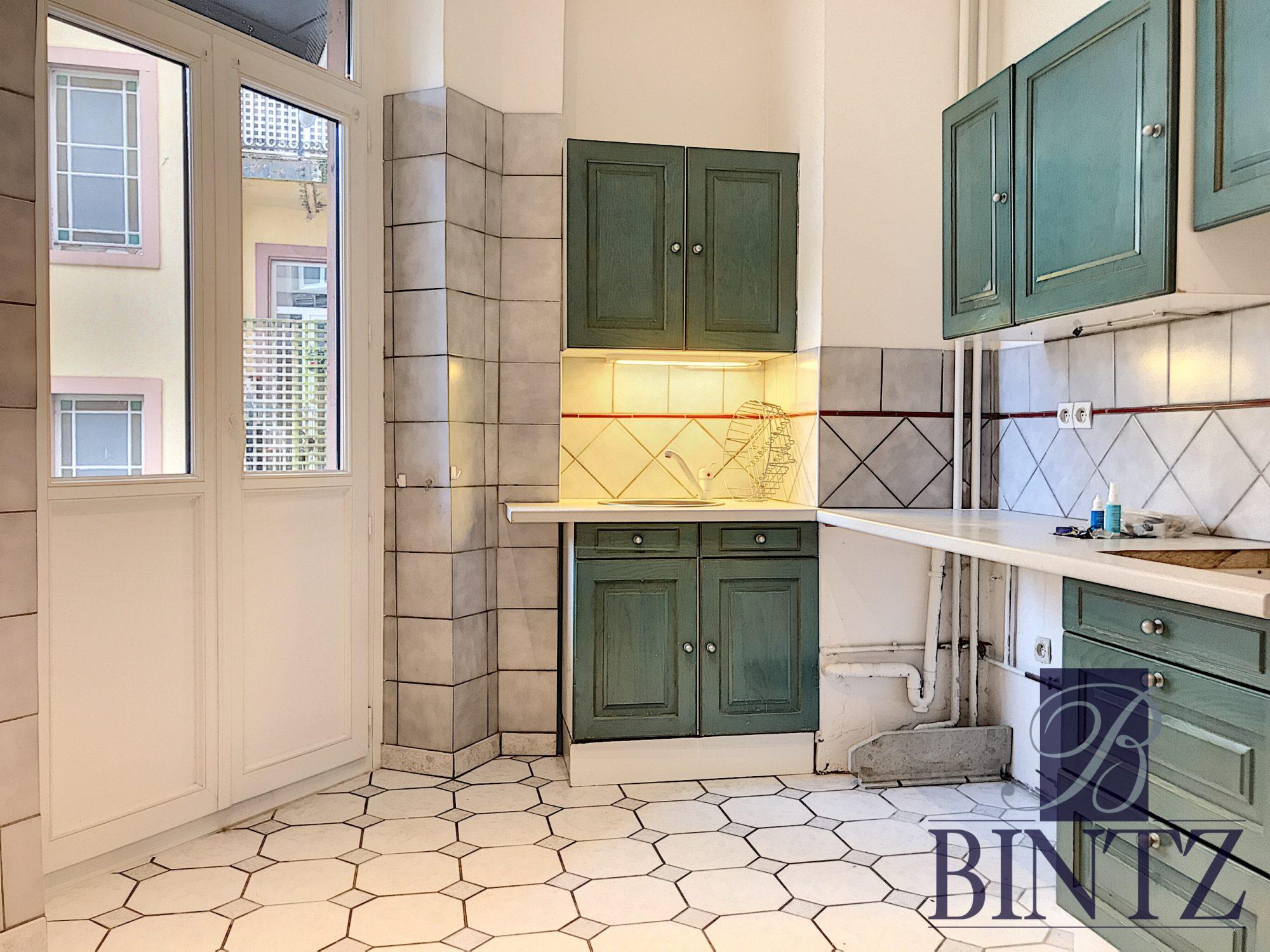 5 PIÈCES QUARTIER CONTADES AVEC 2 BALCONS - Devenez propriétaire en toute confiance - Bintz Immobilier - 7