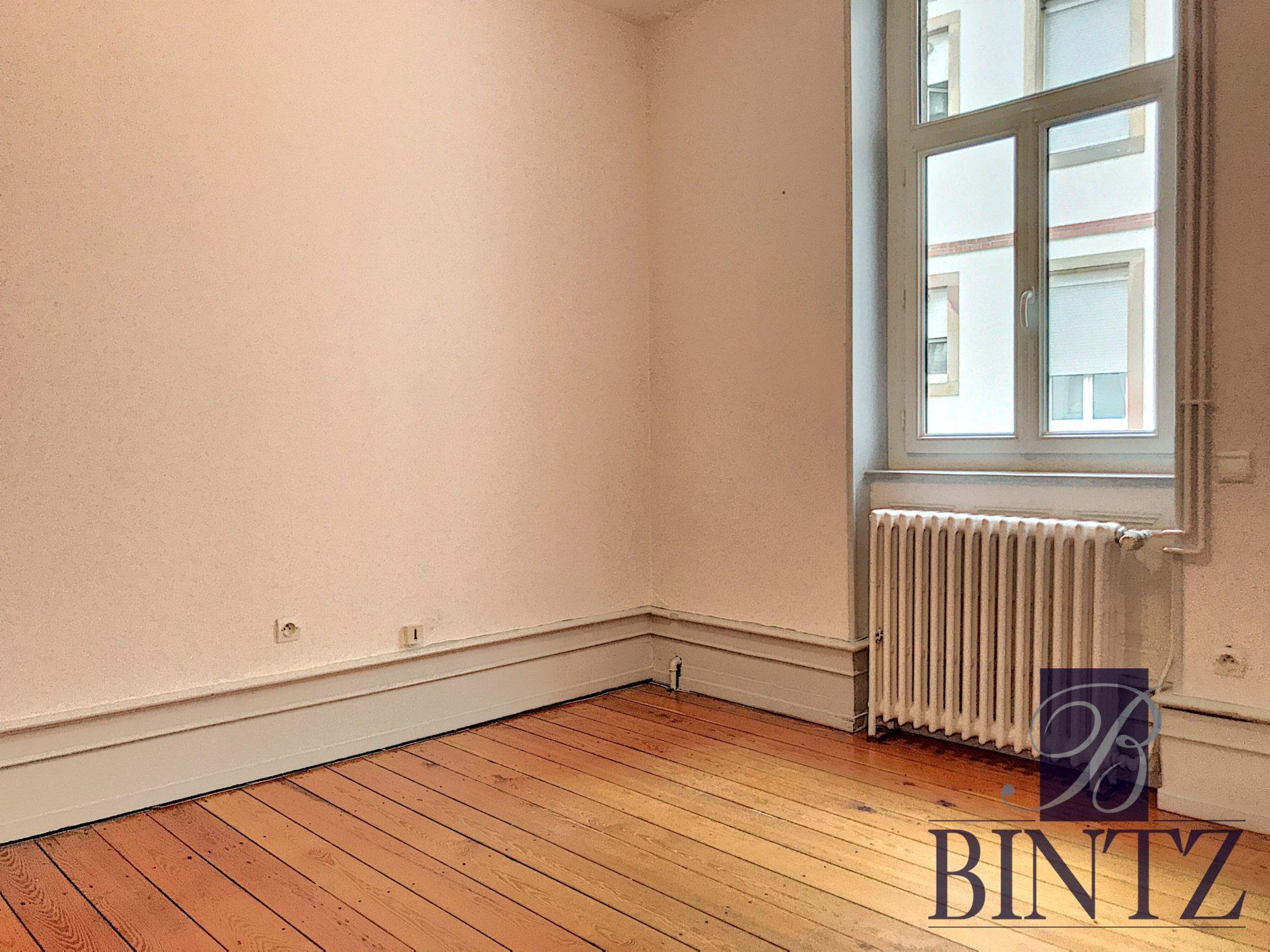 5 PIÈCES QUARTIER CONTADES AVEC 2 BALCONS - Devenez propriétaire en toute confiance - Bintz Immobilier - 9
