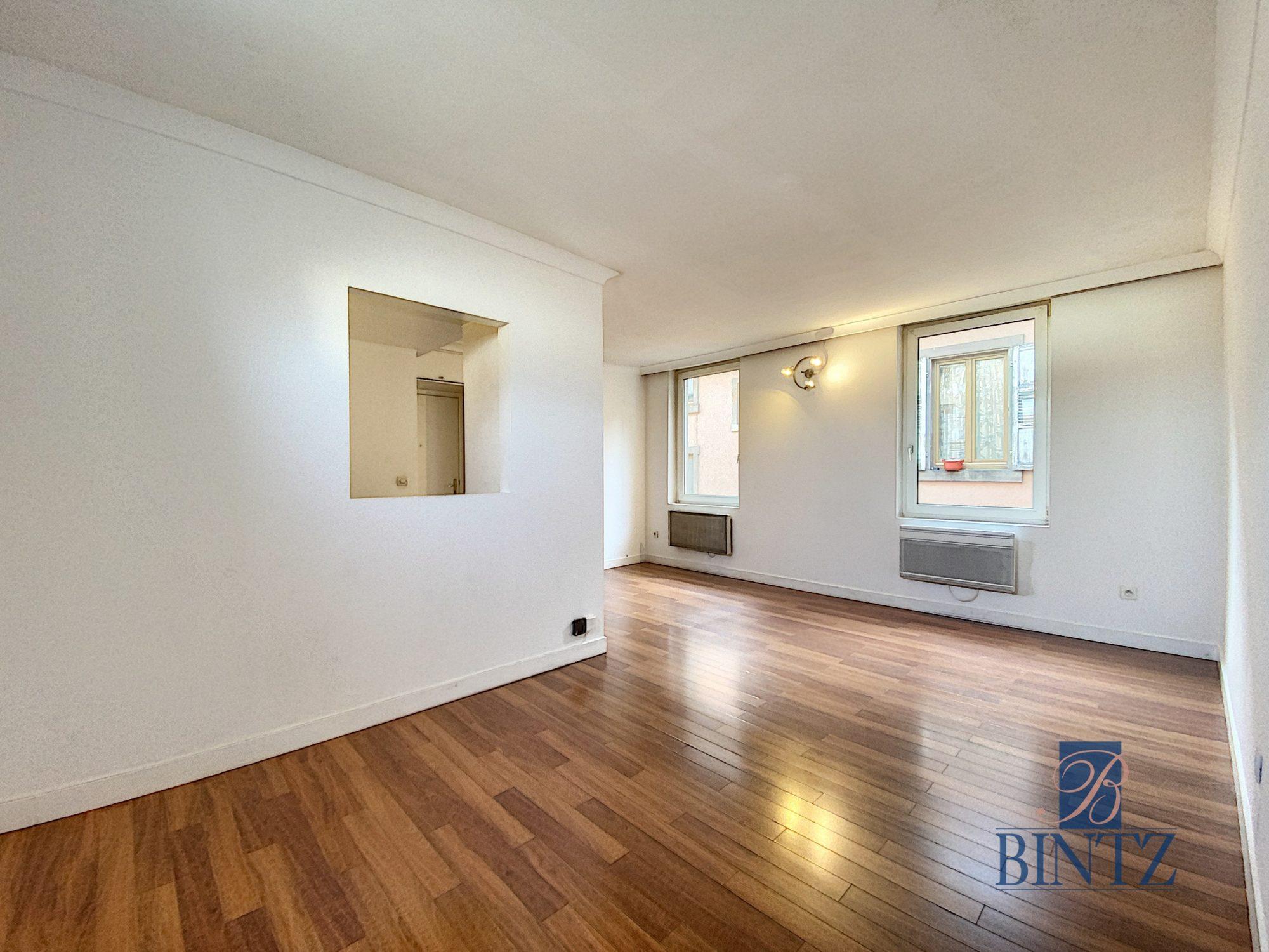 GRAND T1 SCHILTIGHEIM POUR INVESTISSEUR - Devenez propriétaire en toute confiance - Bintz Immobilier - 1
