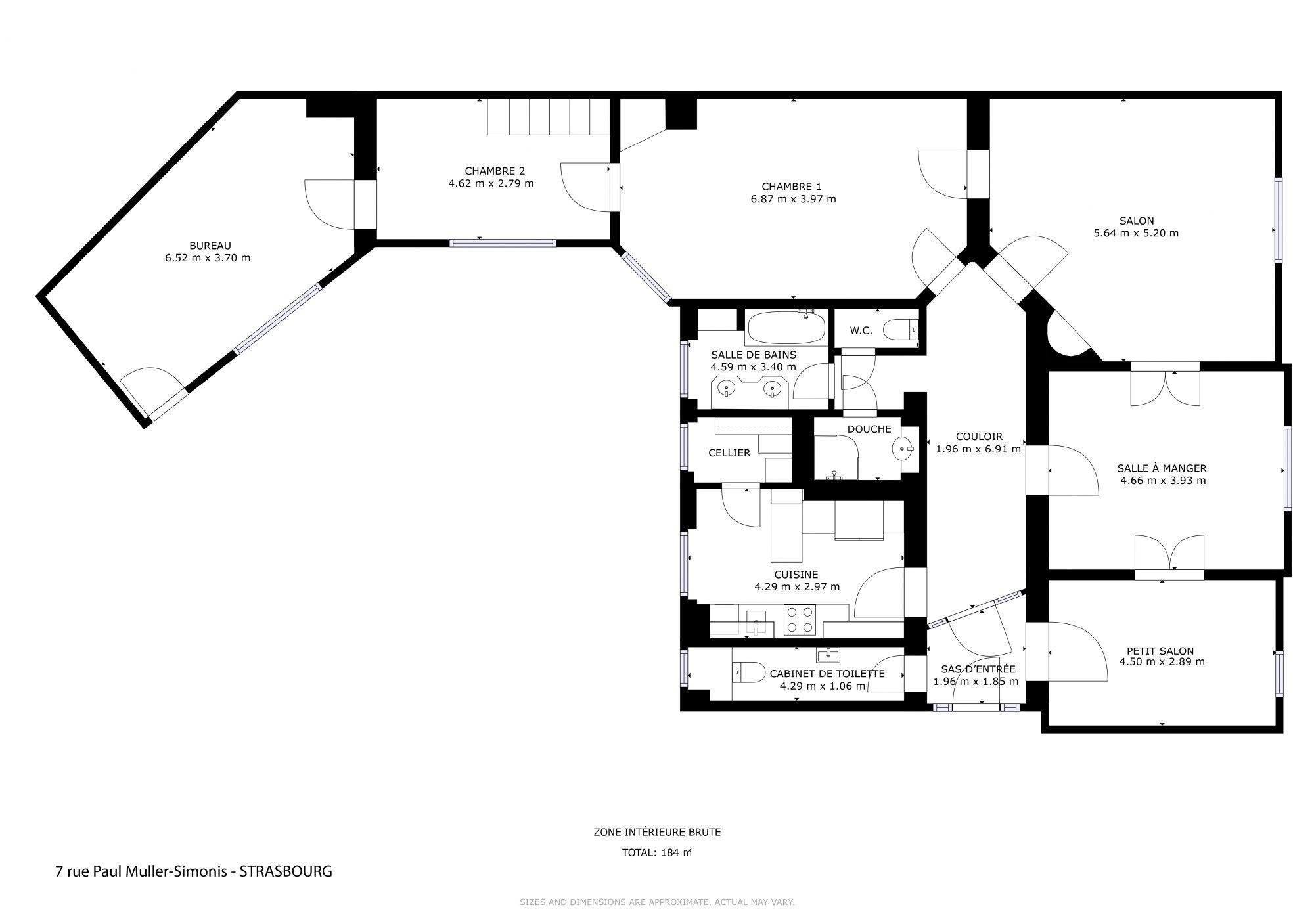 6 pièces de caractère, de 164m2 dans le quartier république - Devenez propriétaire en toute confiance - Bintz Immobilier - 4