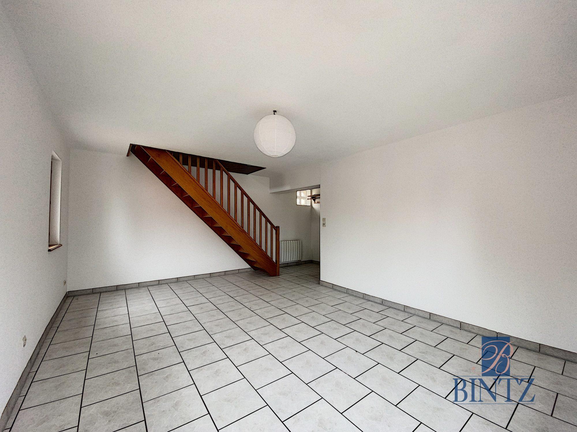 Charmant T3 Duplex avec belle terrasse - Devenez propriétaire en toute confiance - Bintz Immobilier - 4