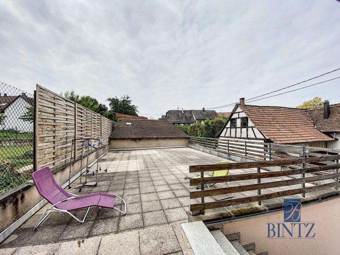 Charmant T3 Duplex avec belle terrasse - Devenez propriétaire en toute confiance - Bintz Immobilier