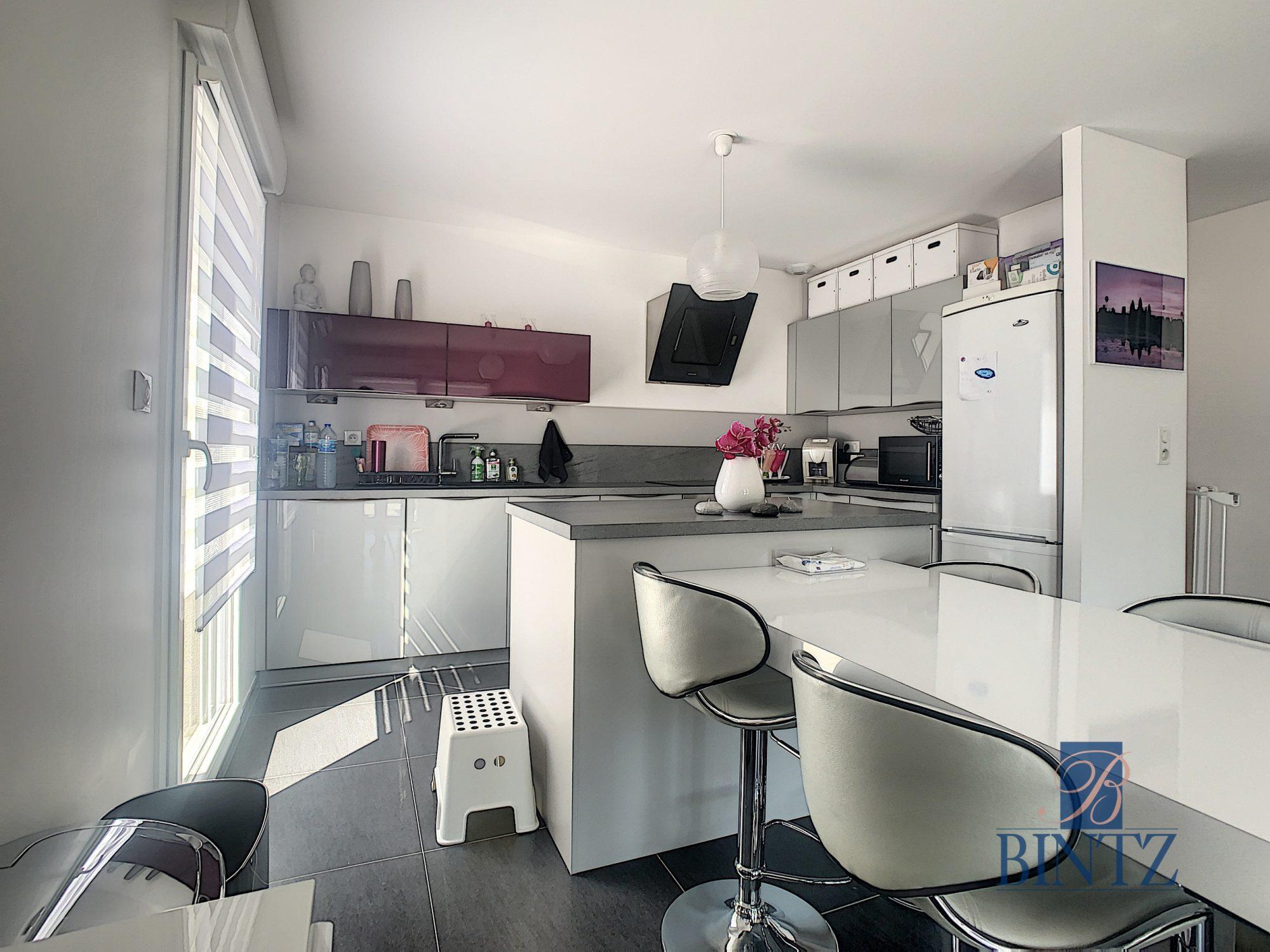 Appartement 4 pièces Duplex rez-de-jardin - Devenez propriétaire en toute confiance - Bintz Immobilier - 8