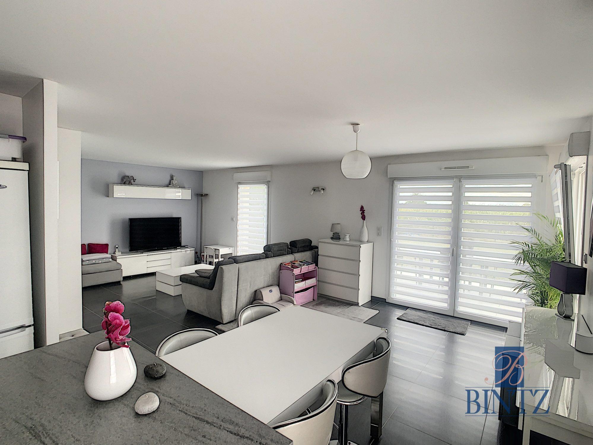Appartement 4 pièces Duplex rez-de-jardin - Devenez propriétaire en toute confiance - Bintz Immobilier - 4