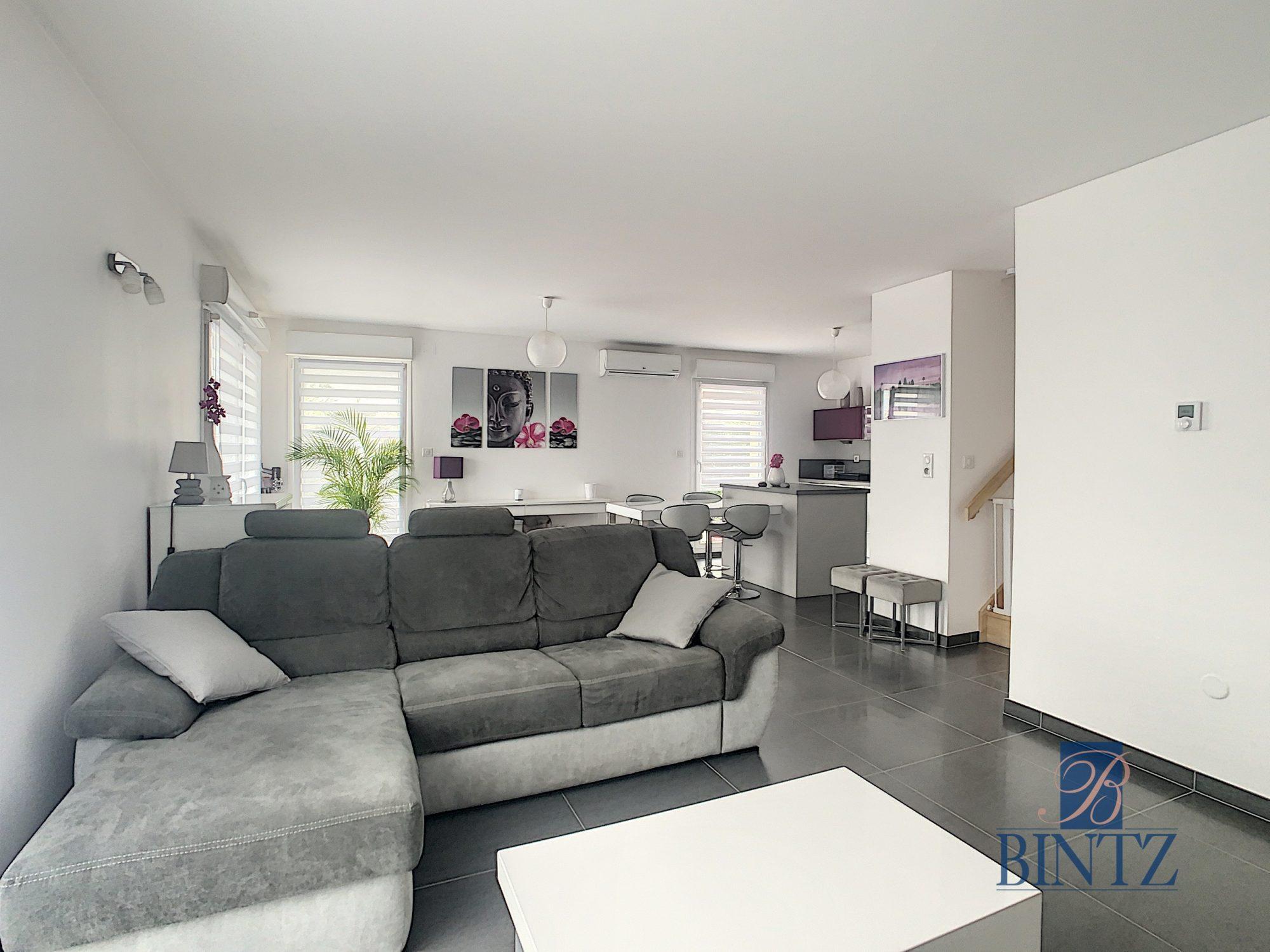 Appartement 4 pièces Duplex rez-de-jardin - Devenez propriétaire en toute confiance - Bintz Immobilier - 2