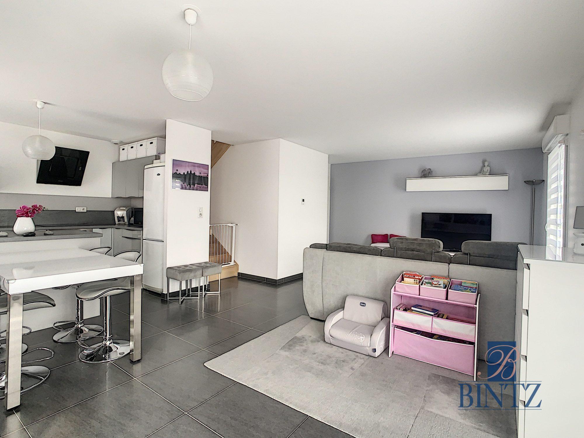 Appartement 4 pièces Duplex rez-de-jardin - Devenez propriétaire en toute confiance - Bintz Immobilier - 5