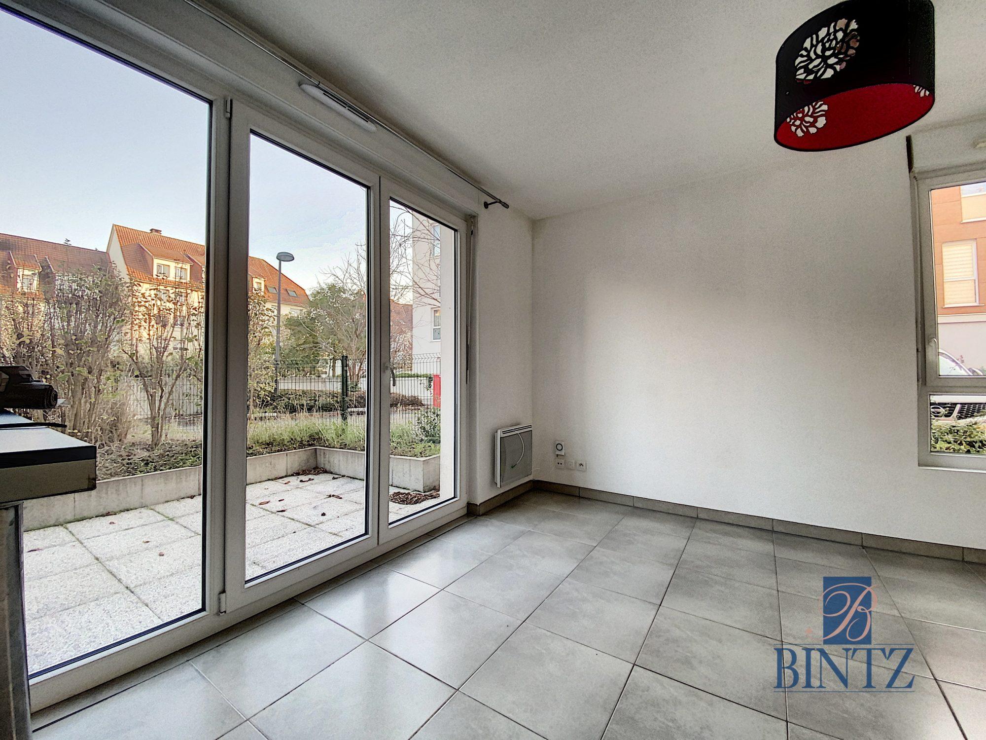Idéal investisseur – 3 pièces rez-de-Jardin ECKBOLSHEIM - Devenez propriétaire en toute confiance - Bintz Immobilier - 2