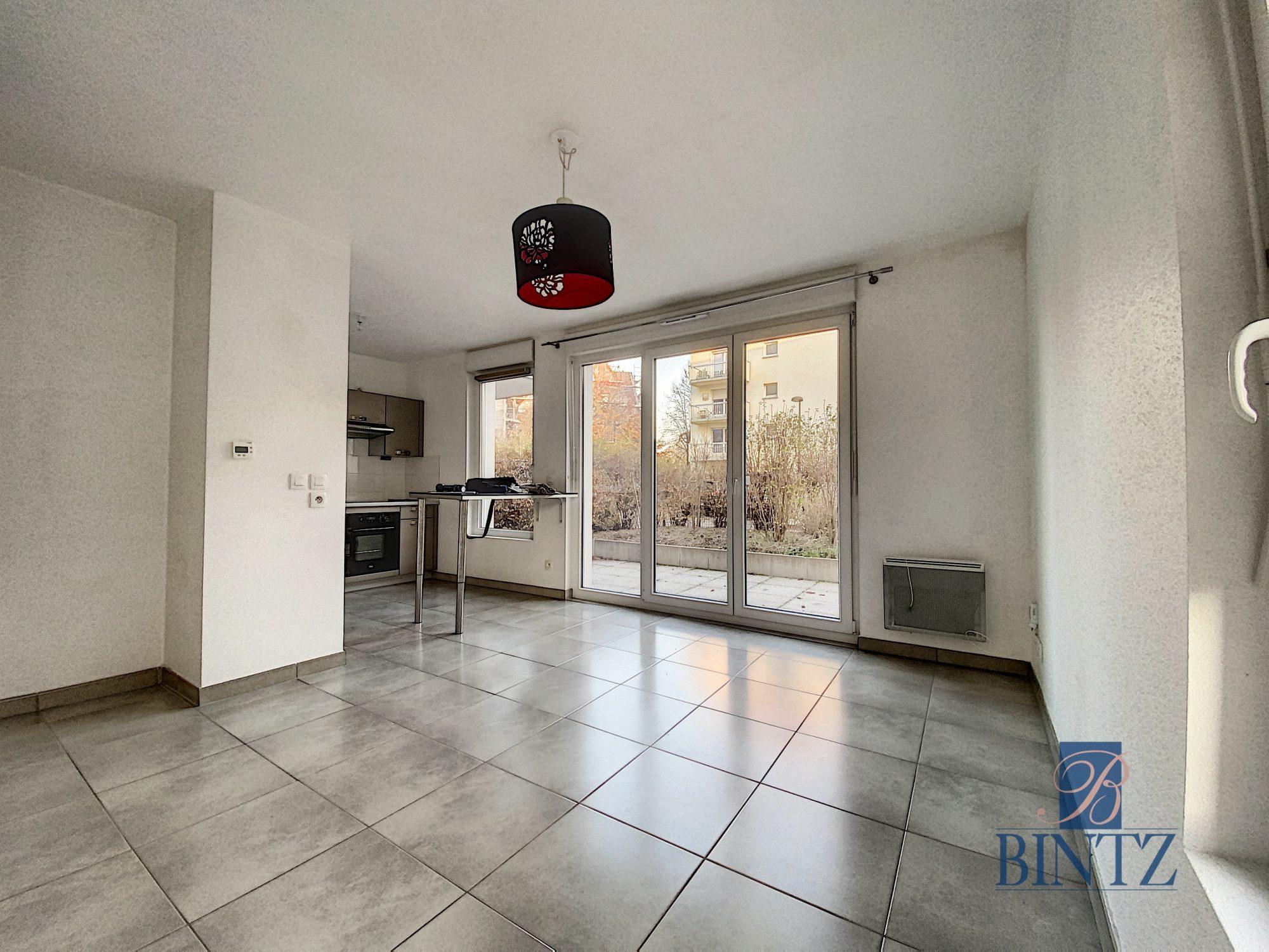 Idéal investisseur – 3 pièces rez-de-Jardin ECKBOLSHEIM - Devenez propriétaire en toute confiance - Bintz Immobilier - 1