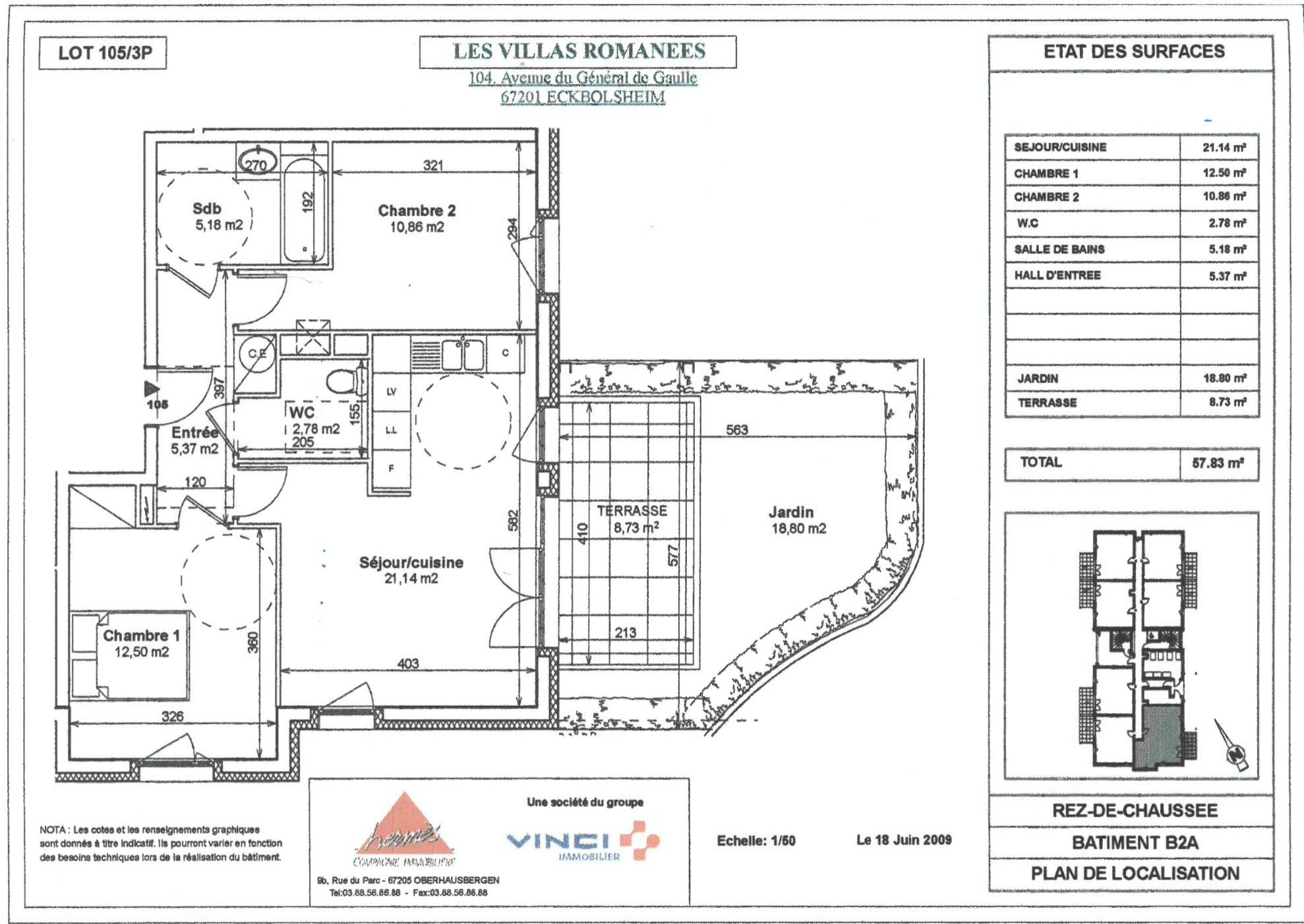 Idéal investisseur – 3 pièces rez-de-Jardin ECKBOLSHEIM - Devenez propriétaire en toute confiance - Bintz Immobilier - 5