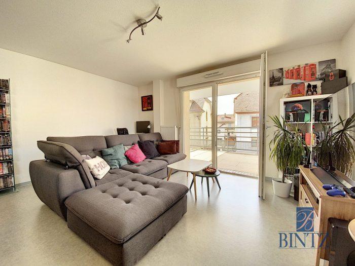 3 pièces neuf avec terrasse Schiltigheim - Devenez propriétaire en toute confiance - Bintz Immobilier