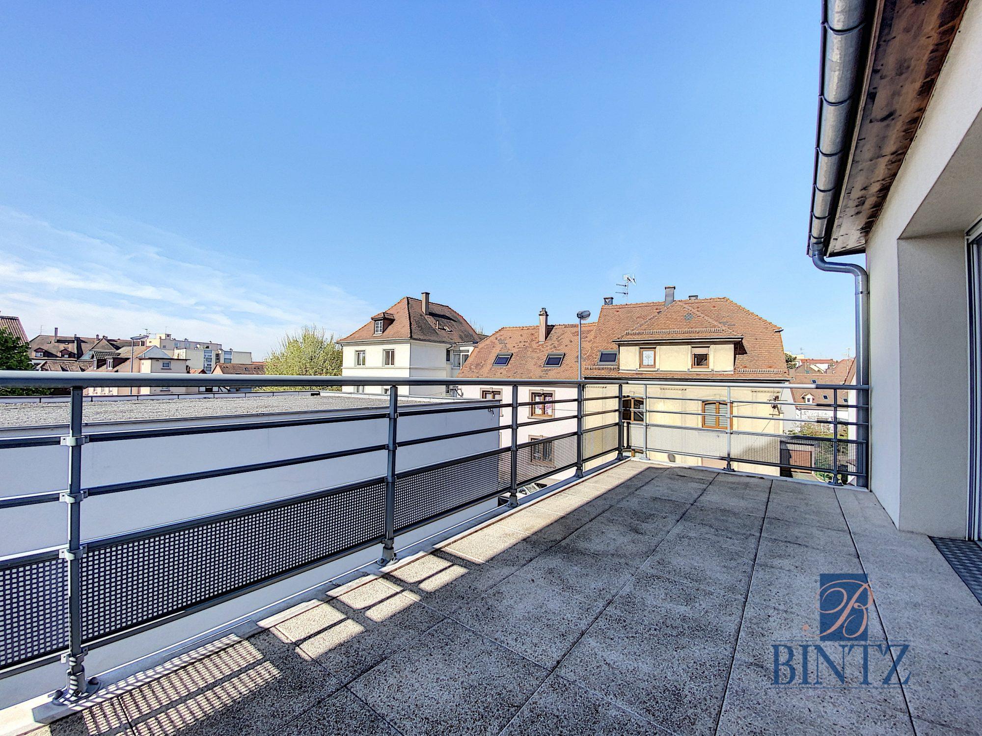 3 PIECES NEUF AVEC TERRASSE À SCHILTIGHEIM - Devenez propriétaire en toute confiance - Bintz Immobilier - 1