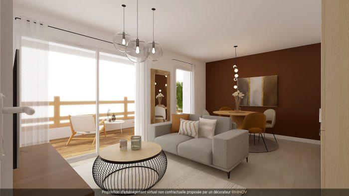 T3 NEUF AVEC TERRASSE EN ATTIQUE - Devenez propriétaire en toute confiance - Bintz Immobilier