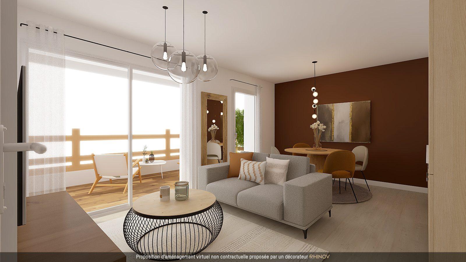 T3 NEUF AVEC TERRASSE EN ATTIQUE - Devenez propriétaire en toute confiance - Bintz Immobilier - 1