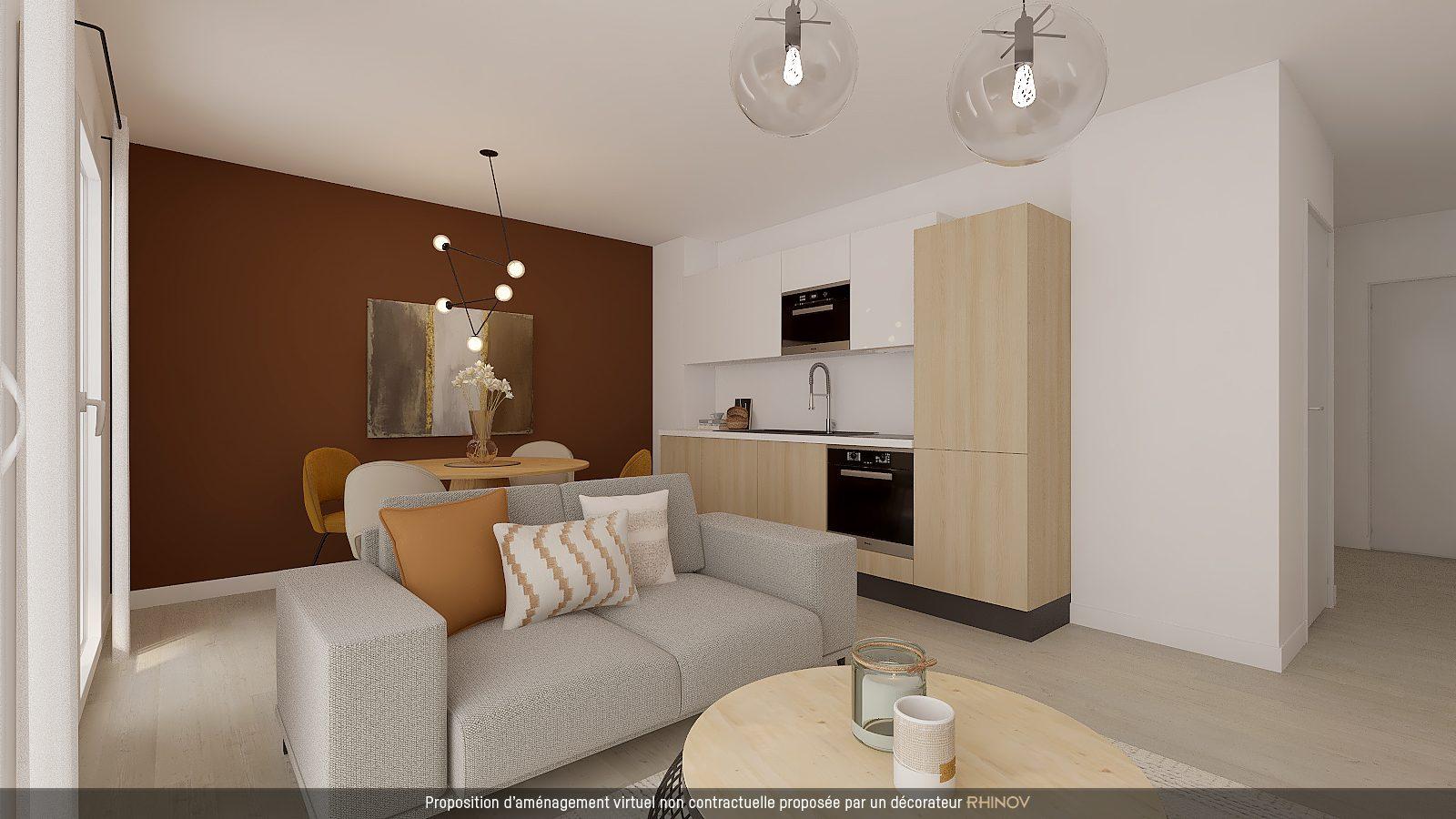 T3 NEUF AVEC TERRASSE EN ATTIQUE - Devenez propriétaire en toute confiance - Bintz Immobilier - 2
