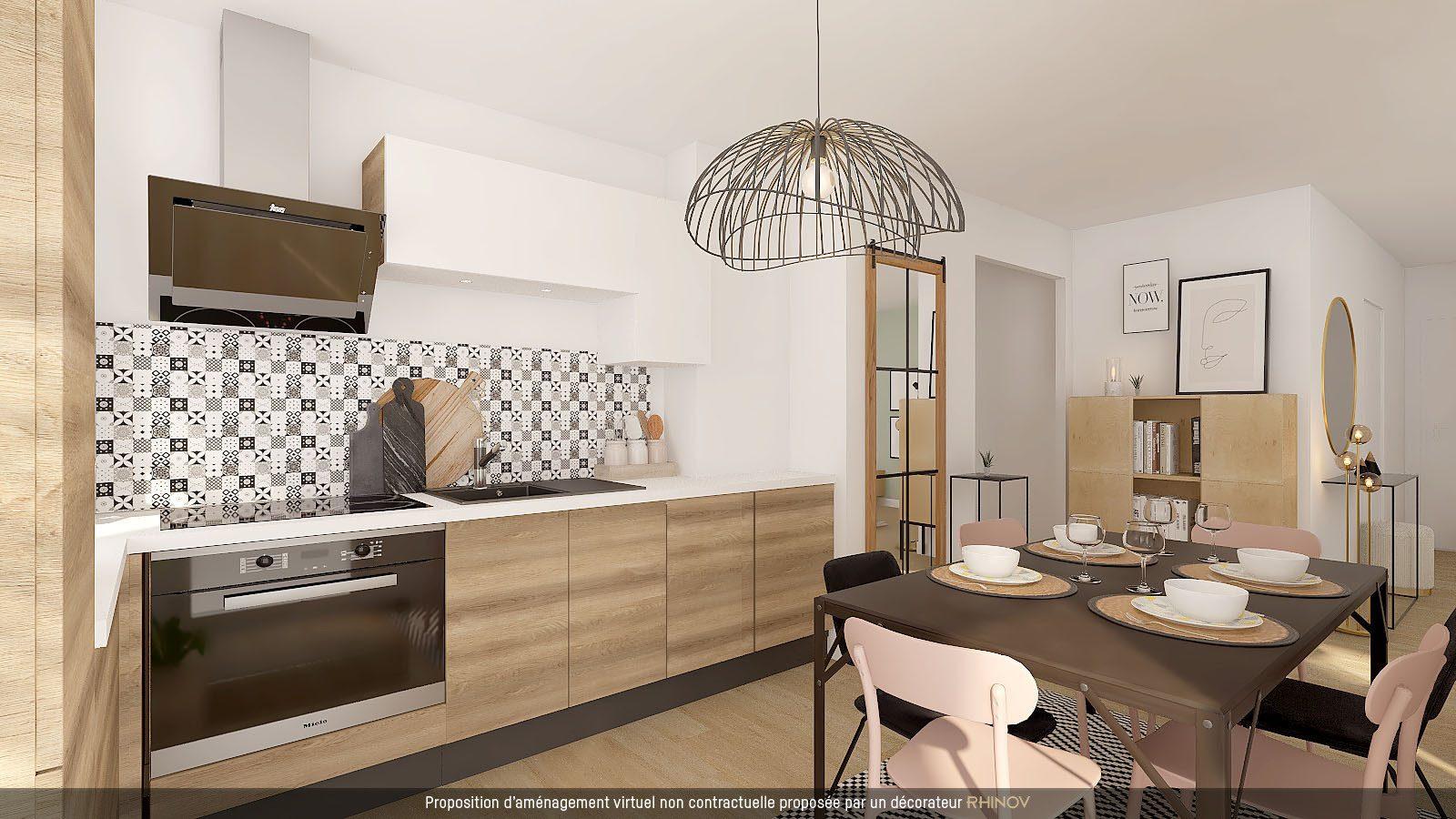 T5 EN ATTIQUE DANS IMMEULE NEUF AVEC TERRASSE - Devenez propriétaire en toute confiance - Bintz Immobilier - 3